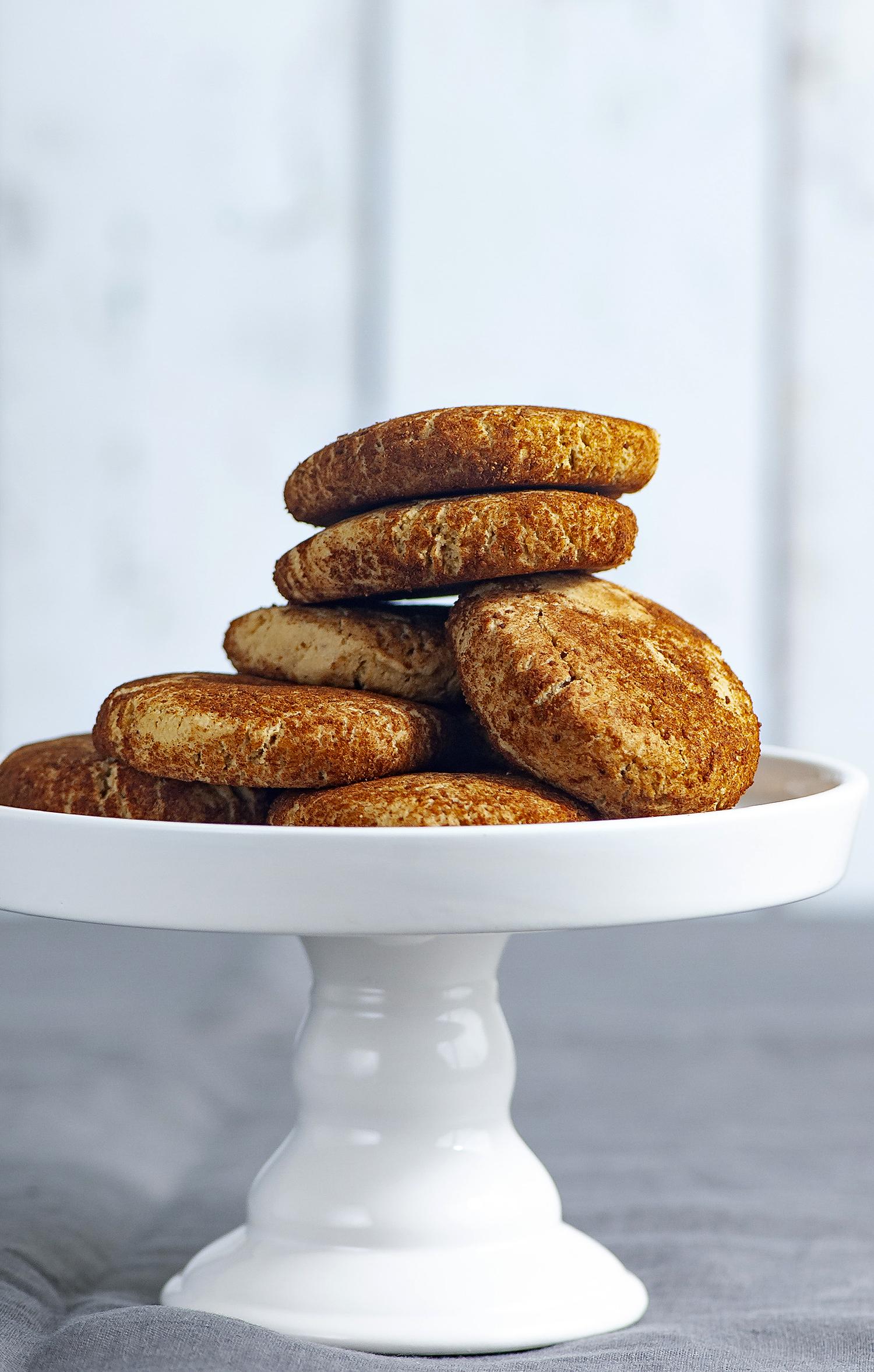 Brown Butter-Cassava Flour Snickerdoodles