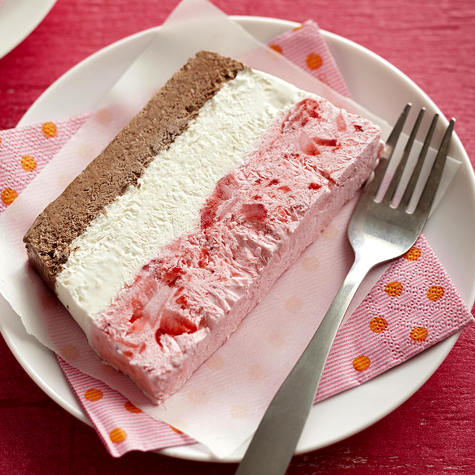 Neapolitan Frozen Mousse Diabetic Living Magazine