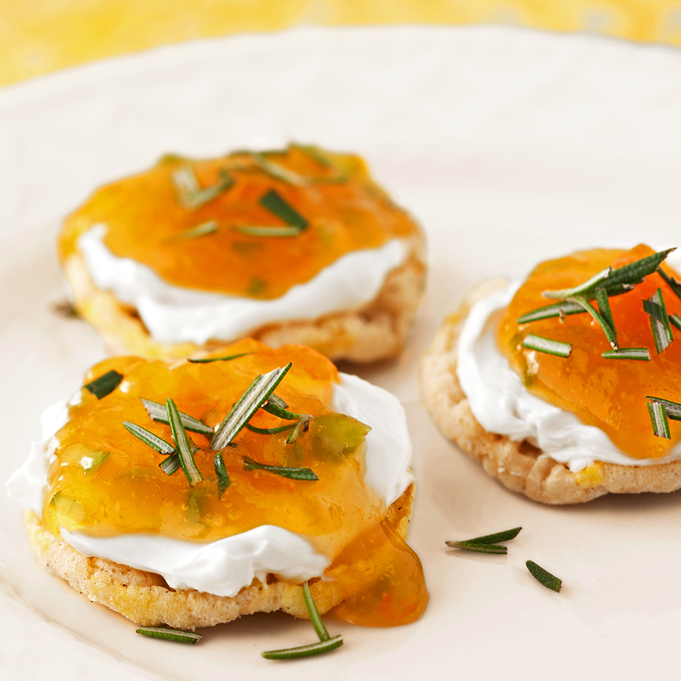 Rice Cakes with Fire Jelly Diabetic Living Magazine