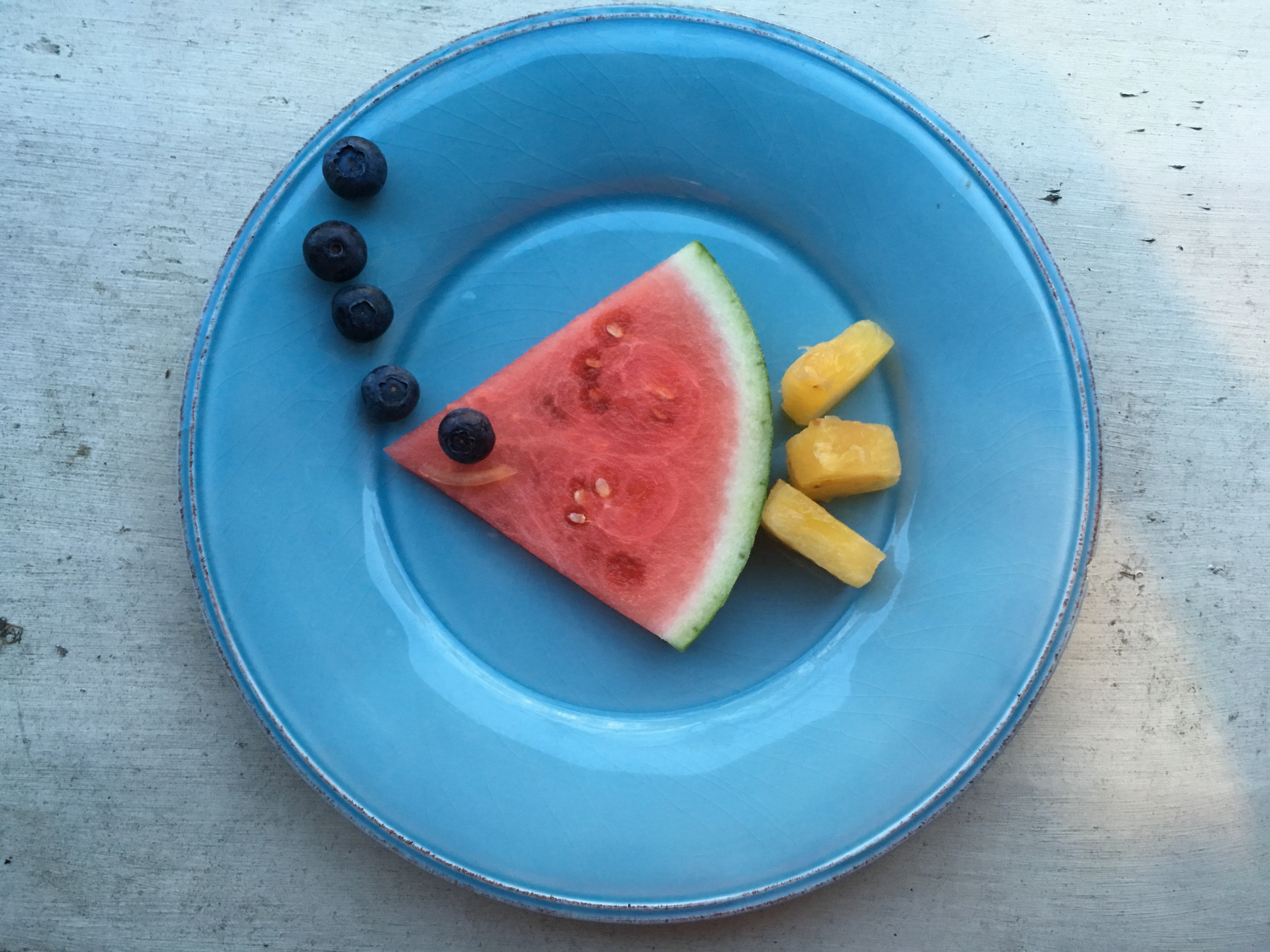 Watermelon Fish Snack for Kids