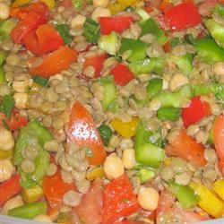 Moroccan Lentil Salad shakti29