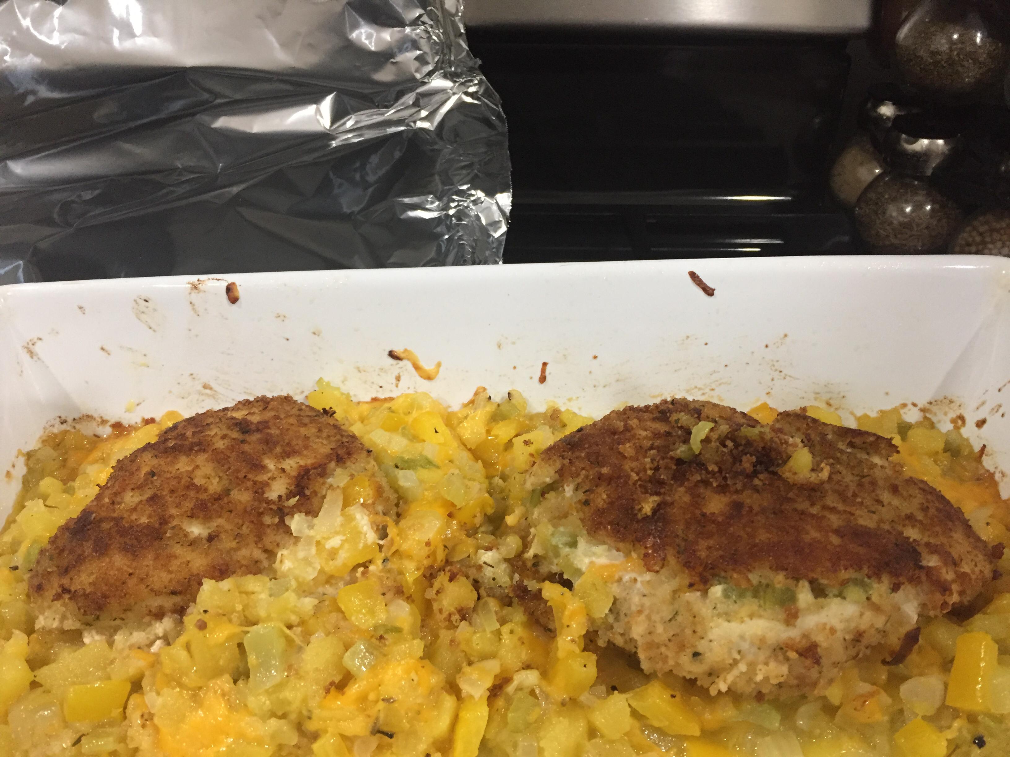 Squash Stuffed Chicken Breasts Terri Hoornstra