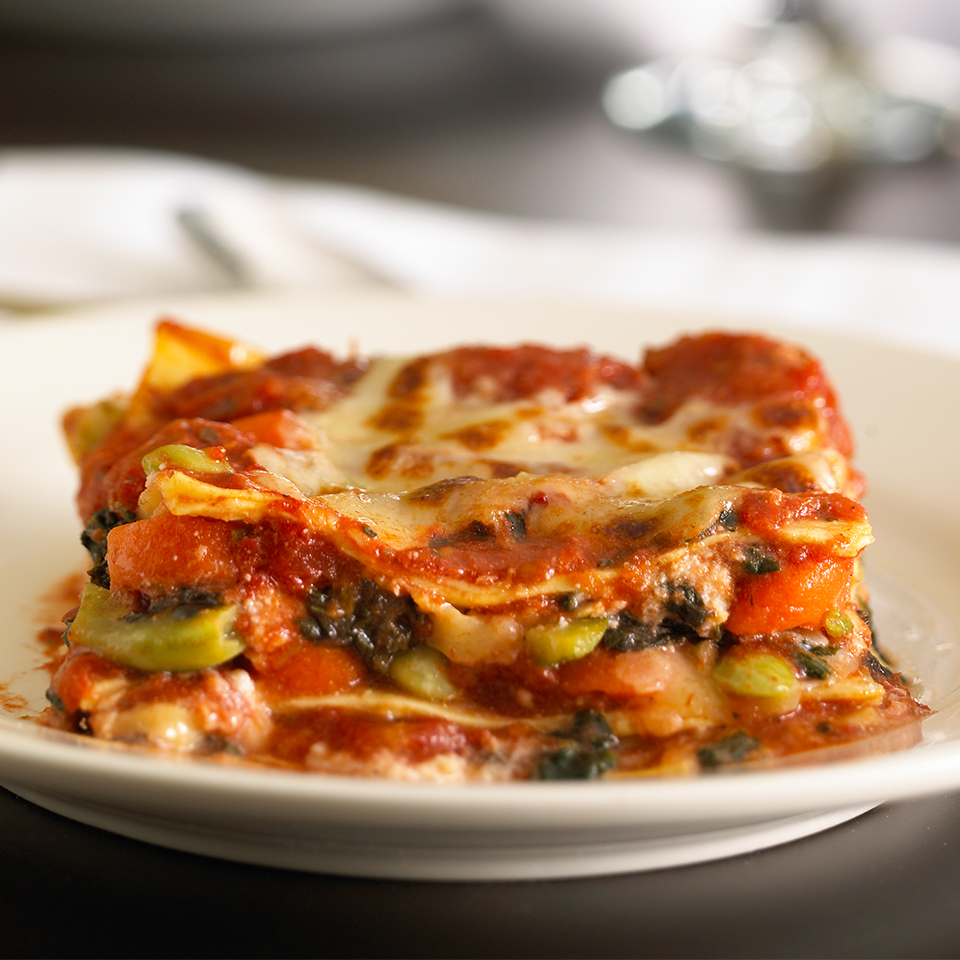 No-Boil Vegetable Lasagna Diabetic Living Magazine