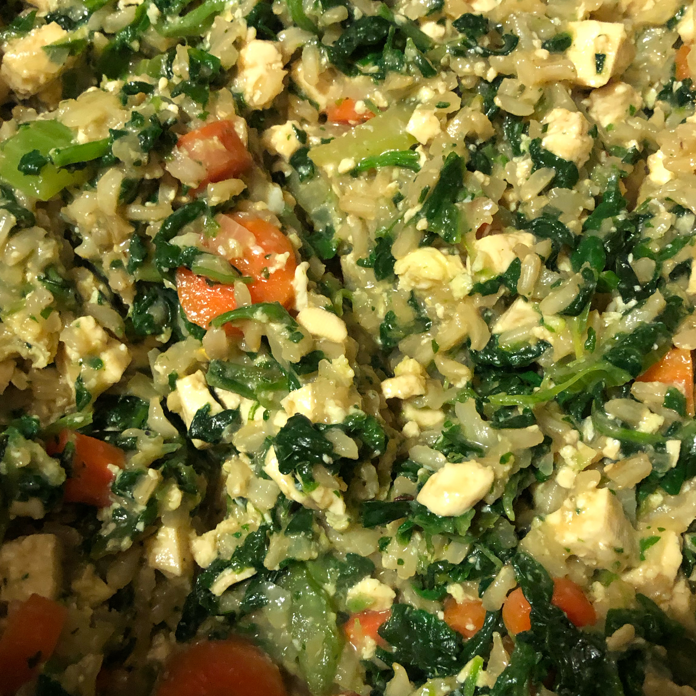 Protein-Packed Vegetarian Fried Rice PreciousVeal