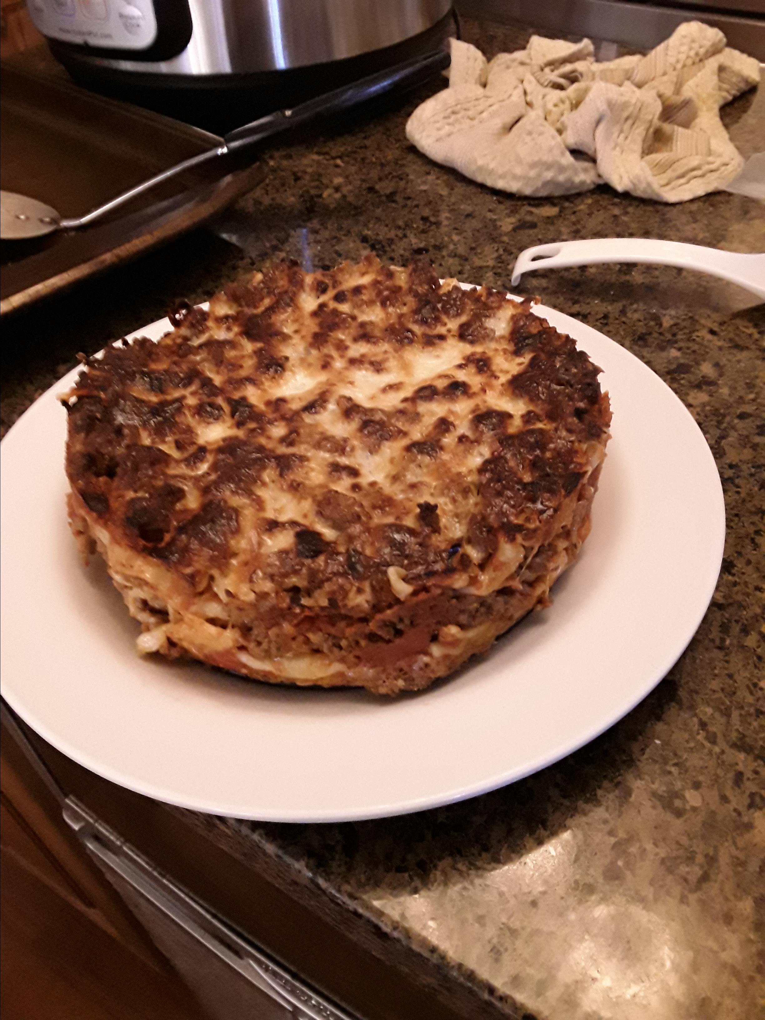 Instant Pot® Lasagna Trevor Peet