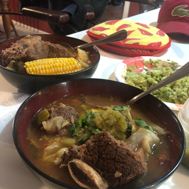 Caldo de Res (Mexican Beef Soup) cmchavez