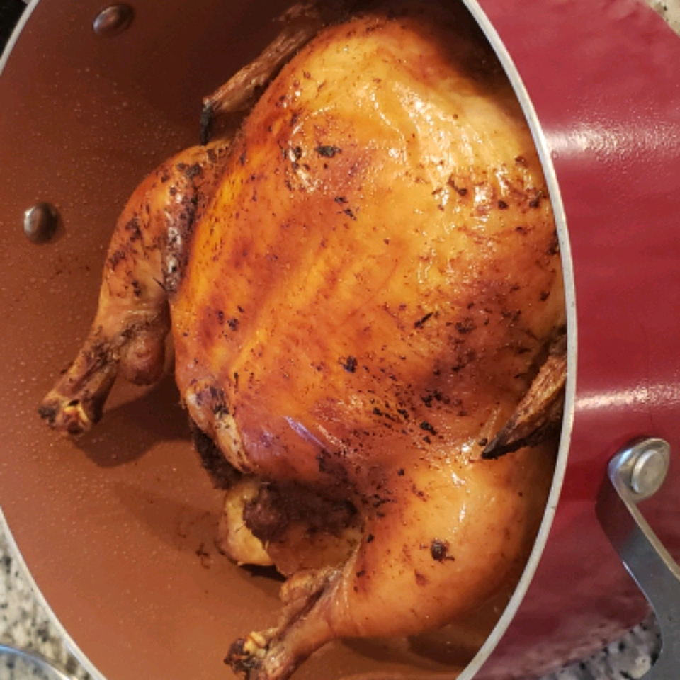Simple Whole Roasted Chicken Catherine Roberts