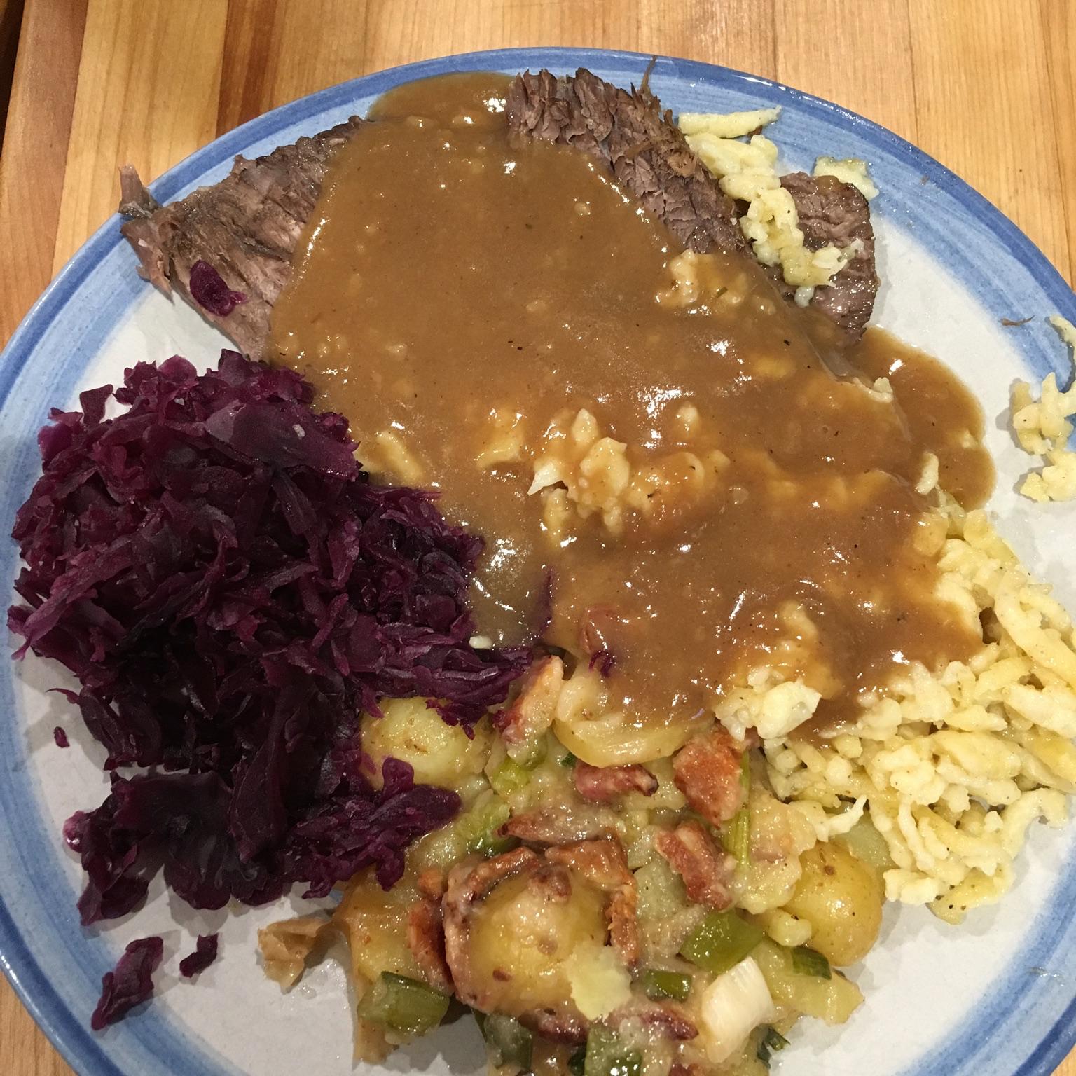 Traditional Sauerbraten Bubber