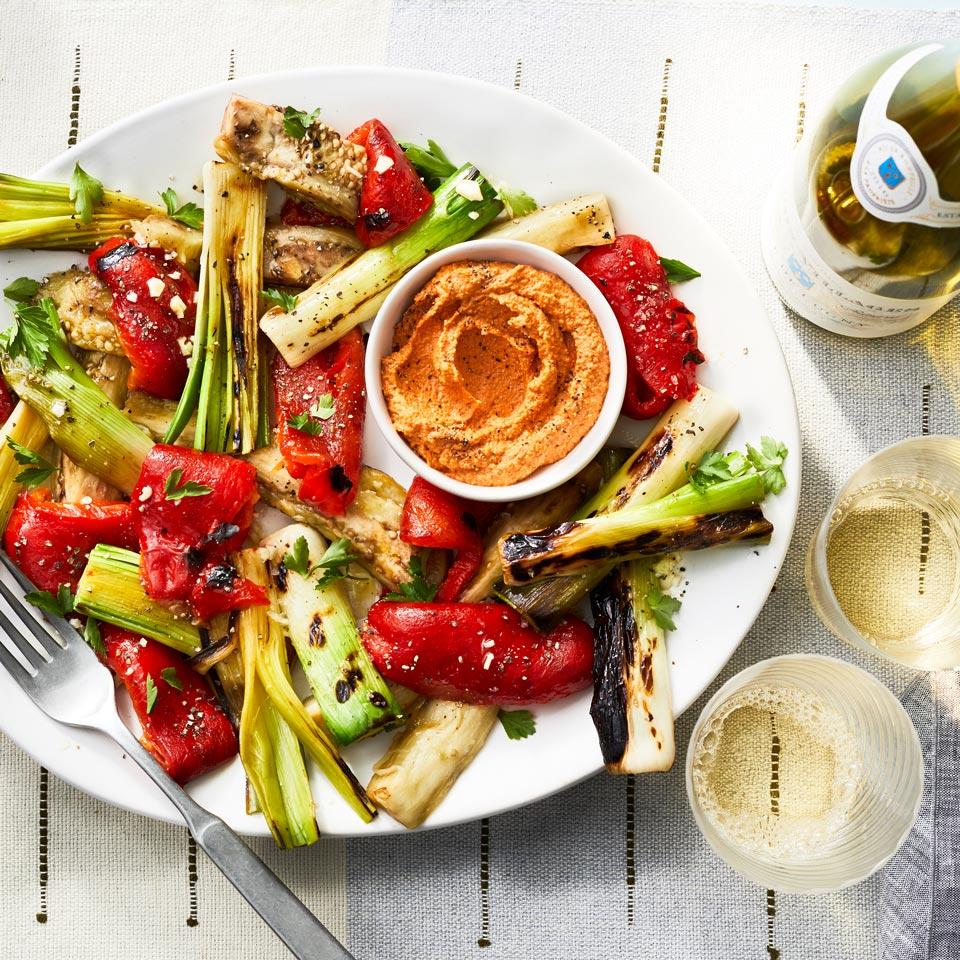Grilled Vegetable Platter Trusted Brands