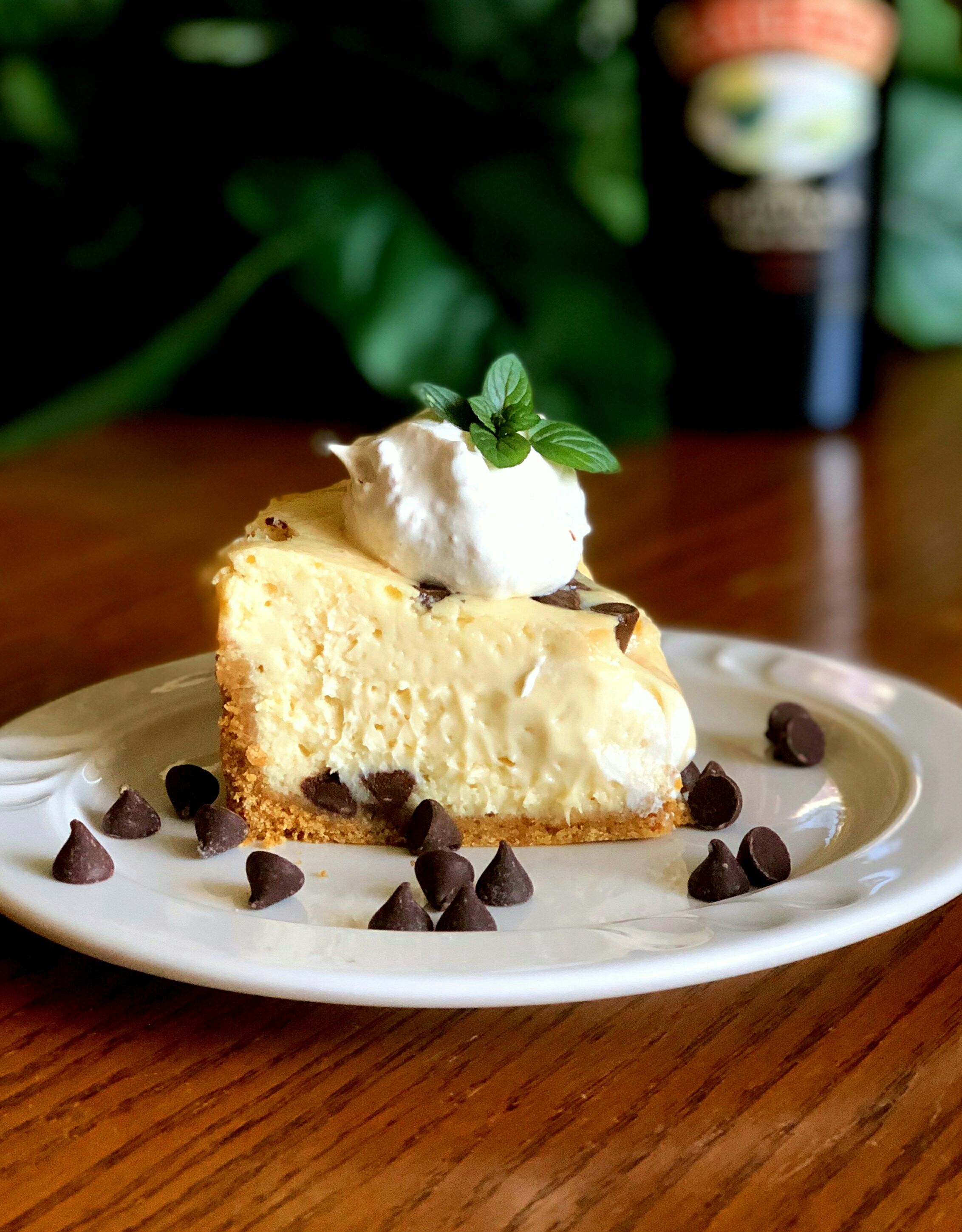 Recipe submitter TACZYZ received this recipe from a caterer more than 20 years ago, and warns that it's not for the diet-conscious. Made with a whole cup of Irish cream, this cheesecake is definitely for Baileys-lovers only.