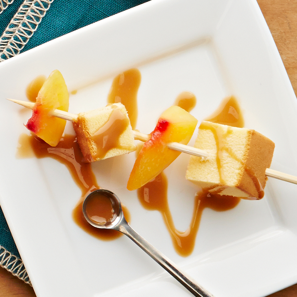 Peach & Pound Cake Skewer Allrecipes Trusted Brands