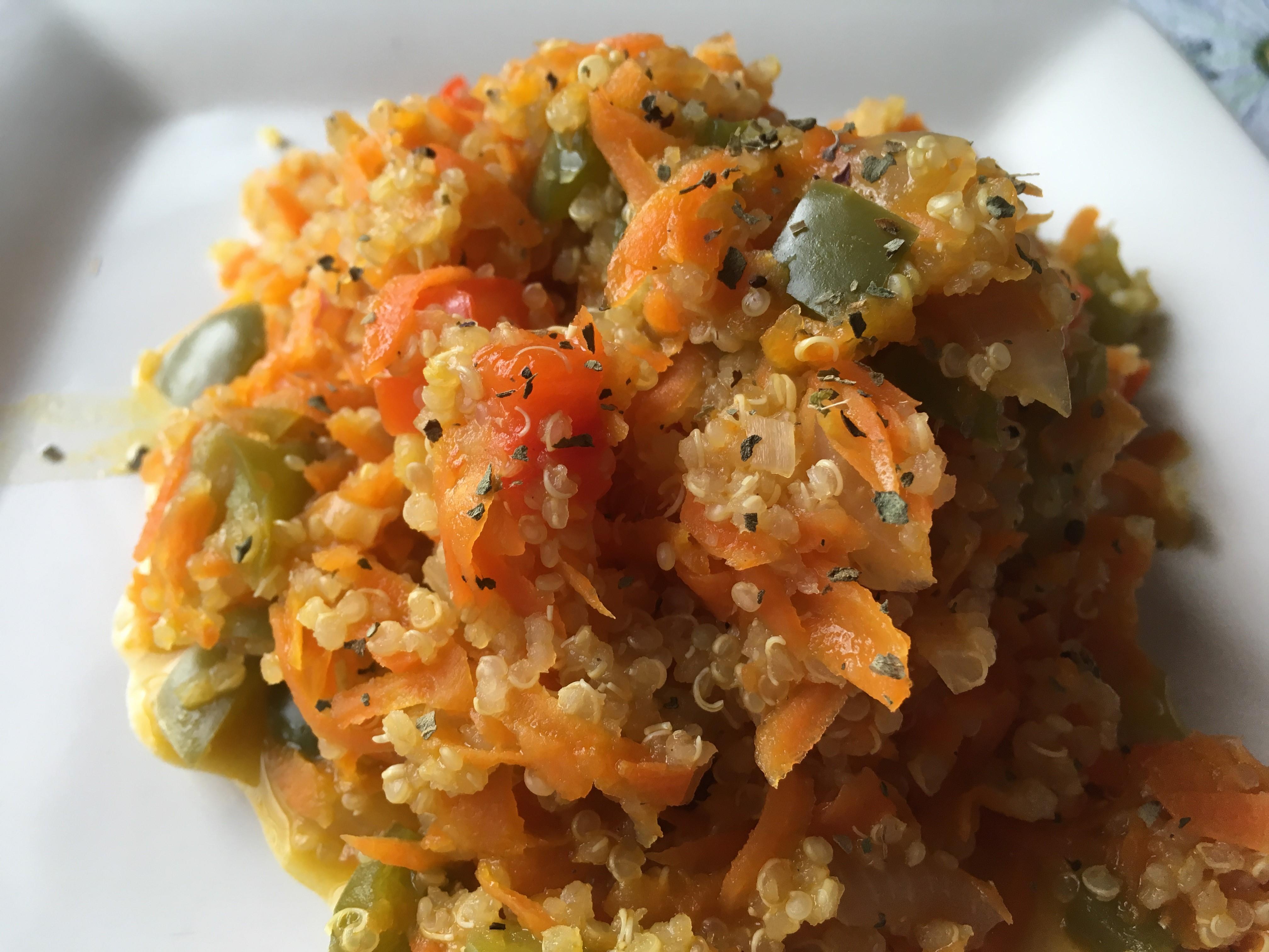 Carrot Quinoa rachimama21