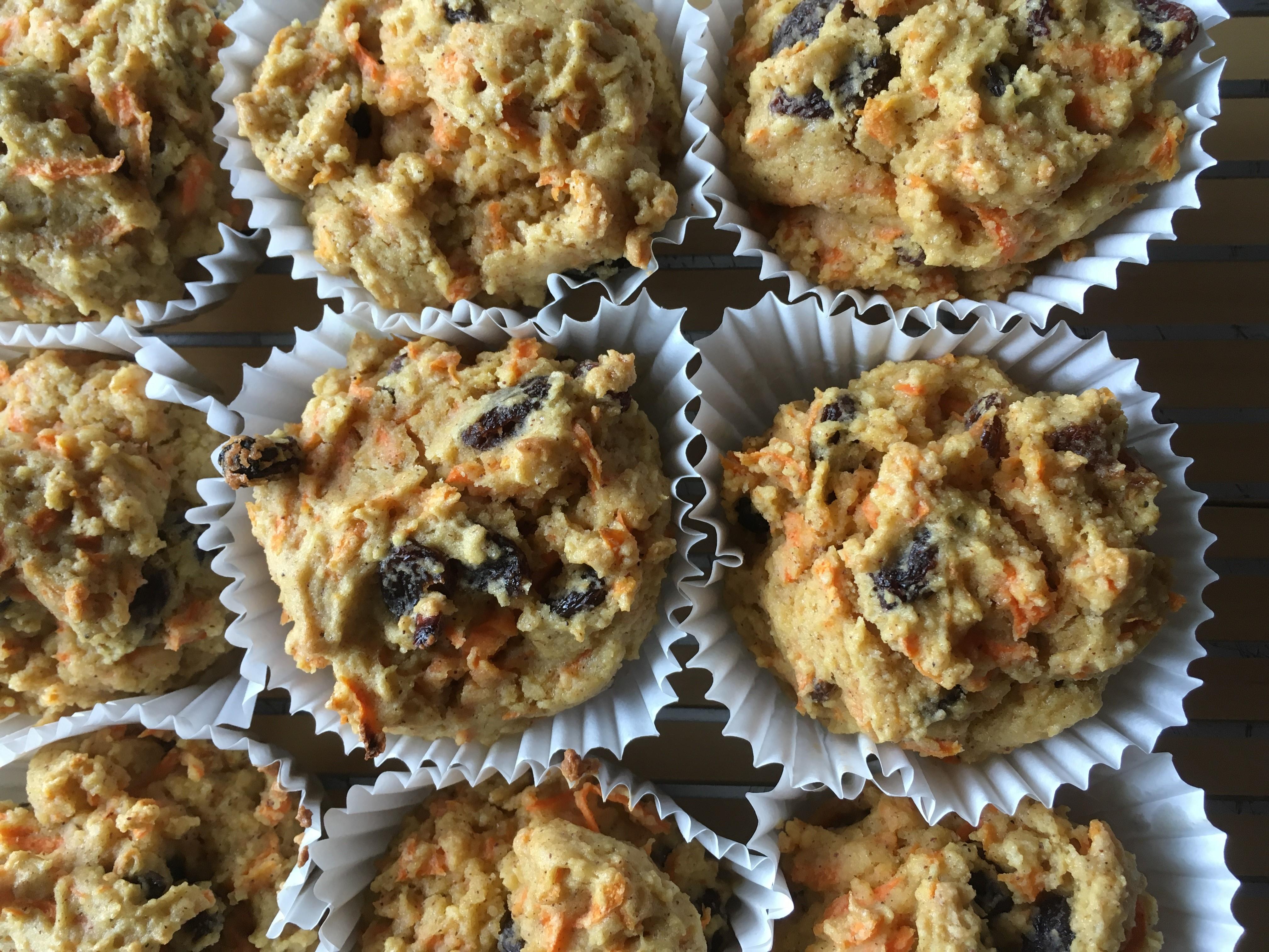 Allergen-Free Raisin-Carrot Muffins