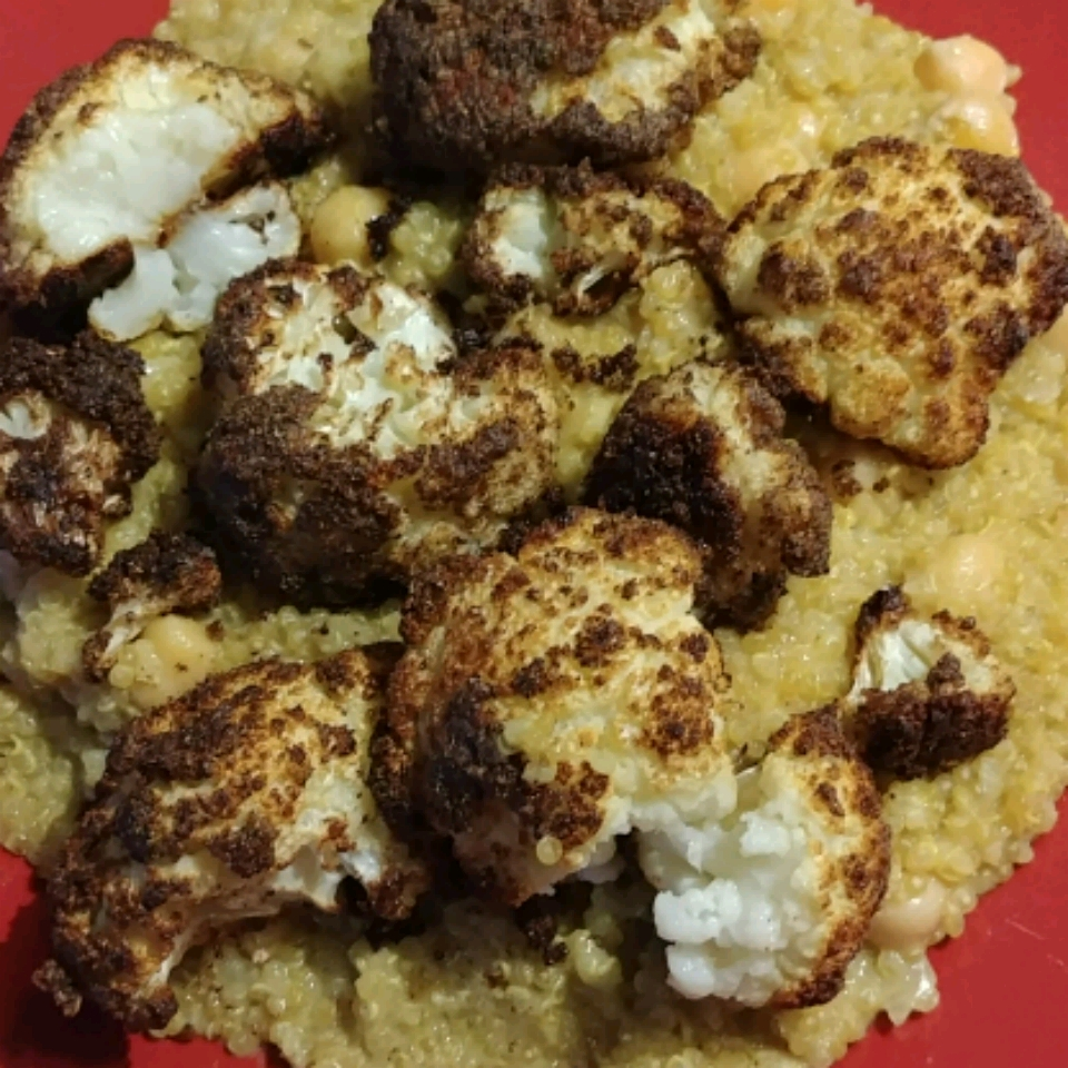 Curried Quinoa Veggie Bowl Stacey Gillard