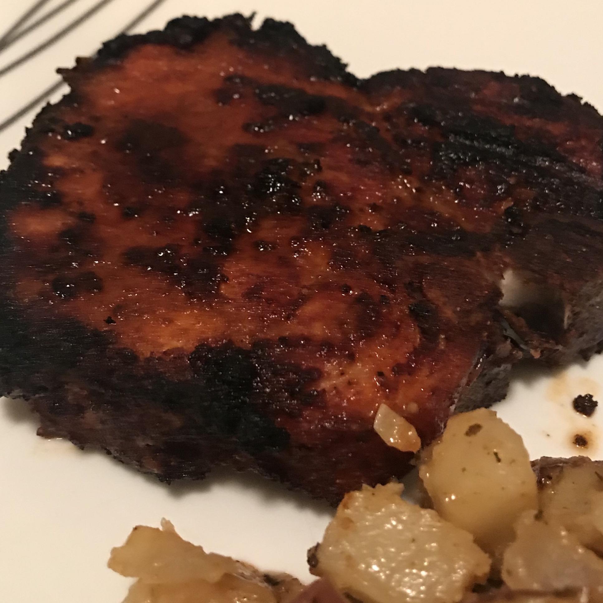 Smoky Grilled Pork Chops Trisha
