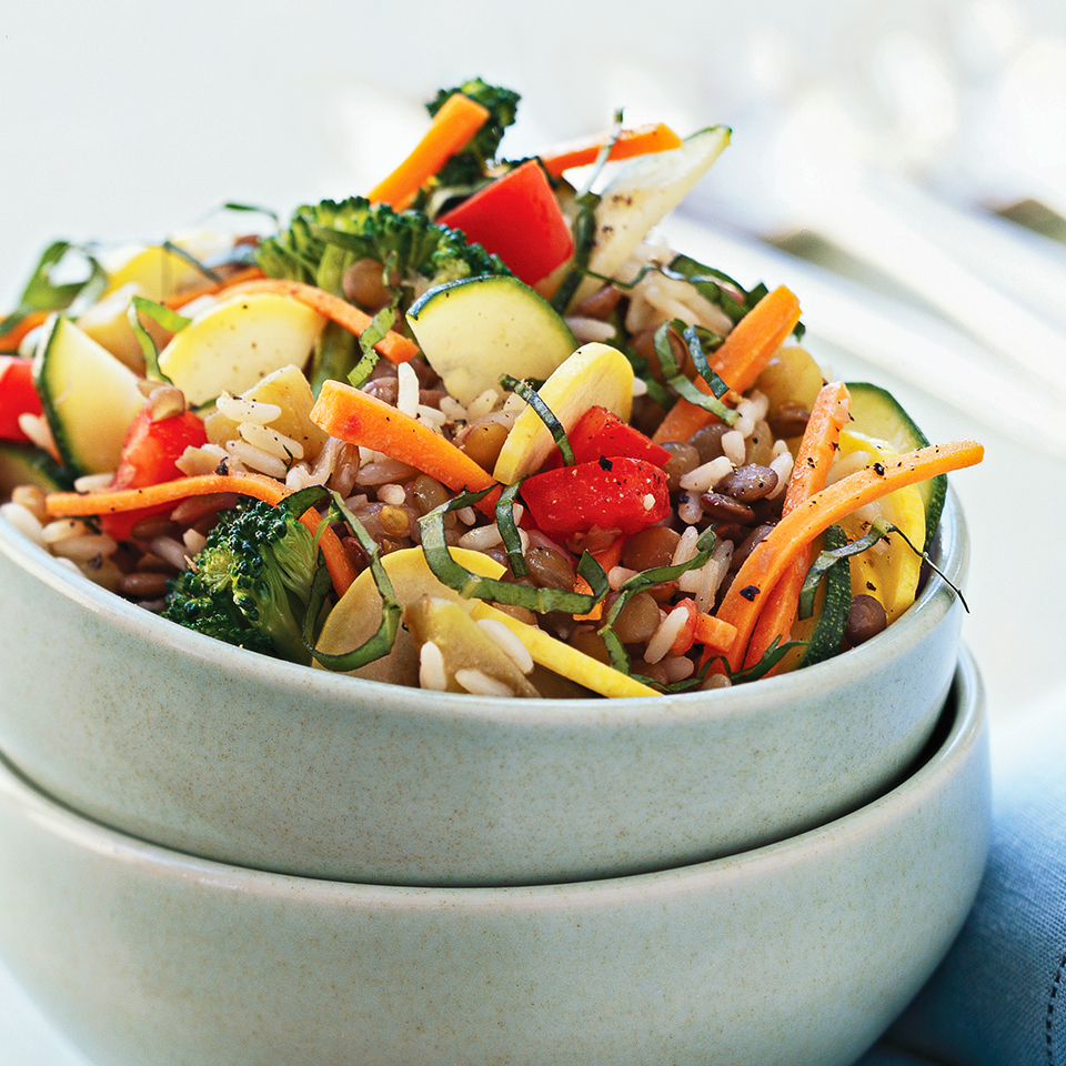 Summer Vegetable Pilaf Diabetic Living Magazine