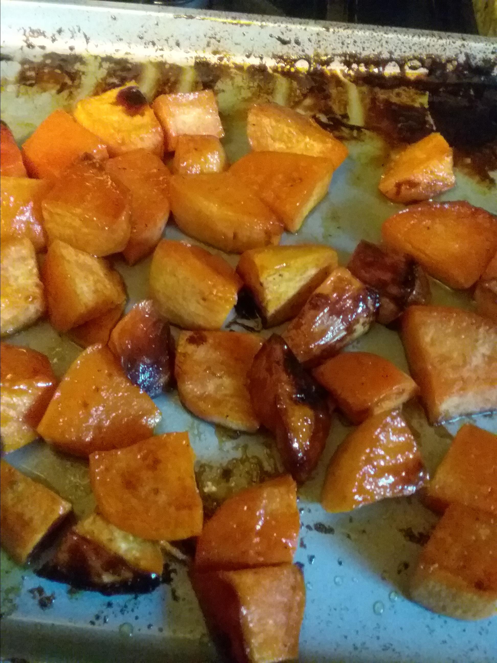 Honey Roasted Sweet Potatoes Mary Ann B