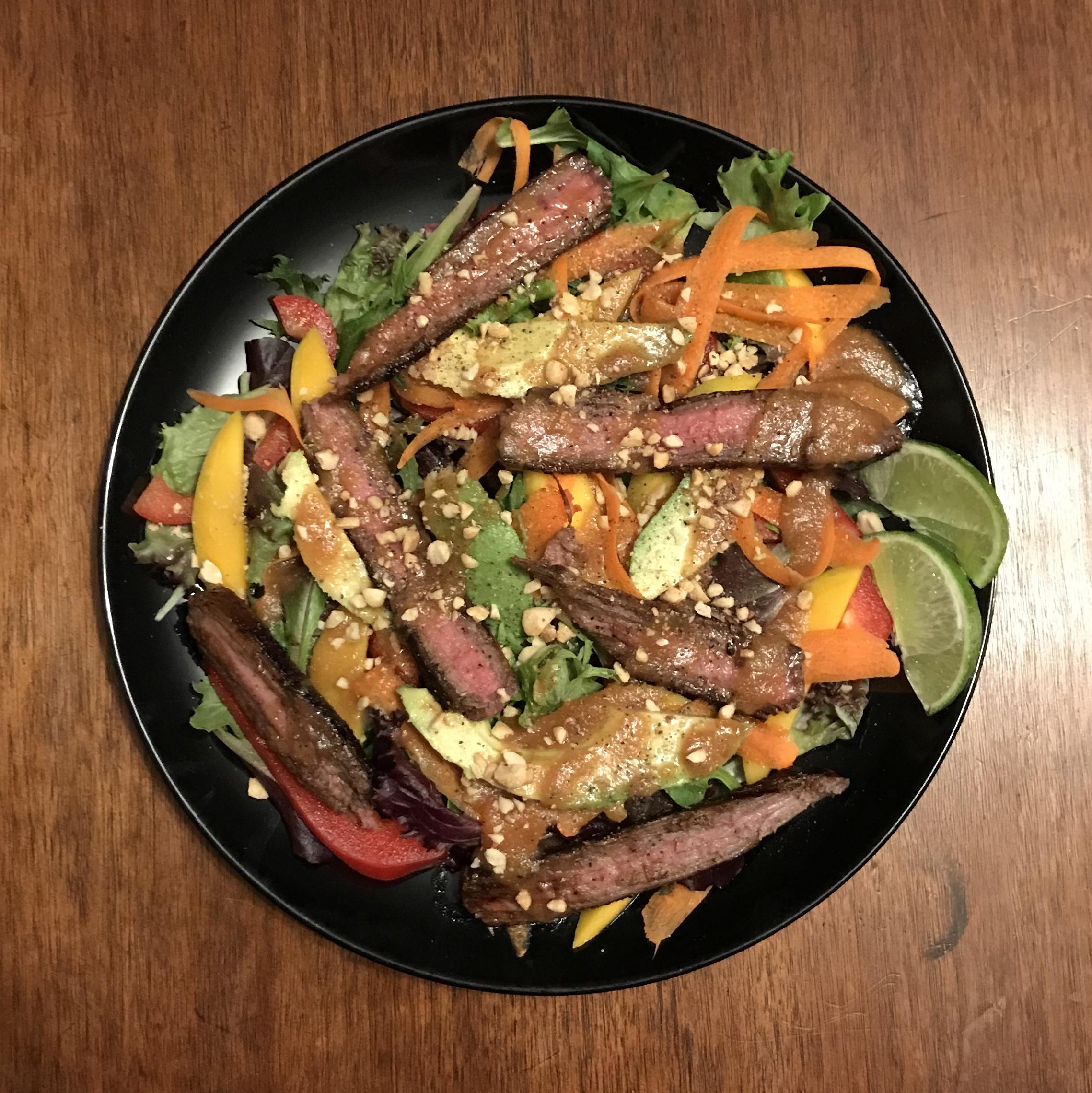 Easy Sirloin Thai Salad Lee Bondzio
