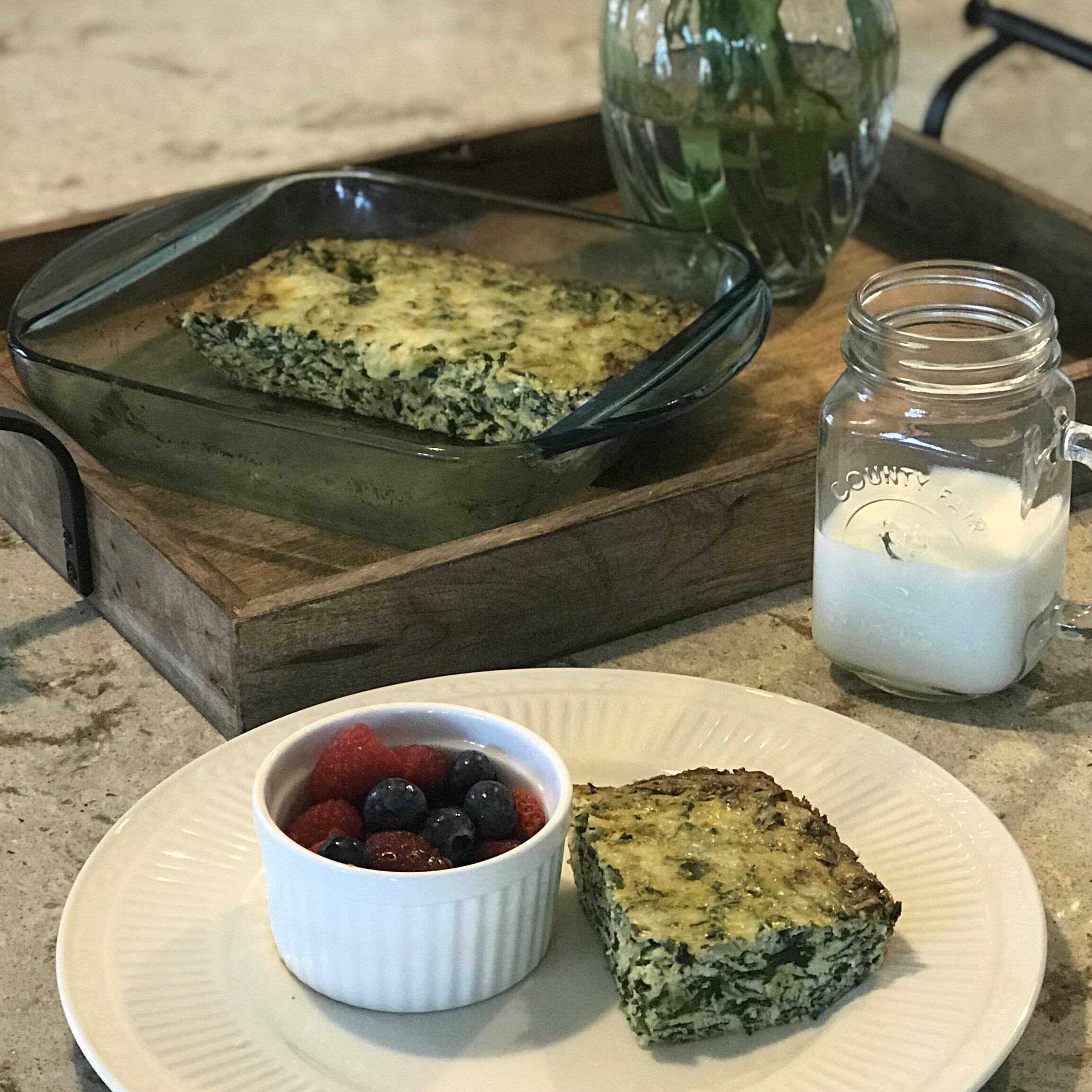 Spinach And Mushroom Frittata Recipe Allrecipes