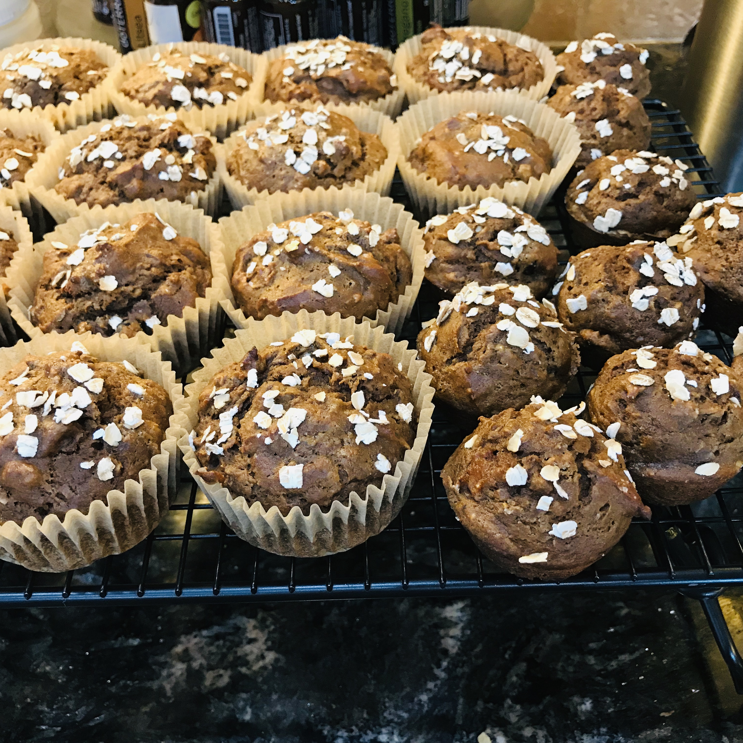 Spiced Pumpkin Molasses Muffins