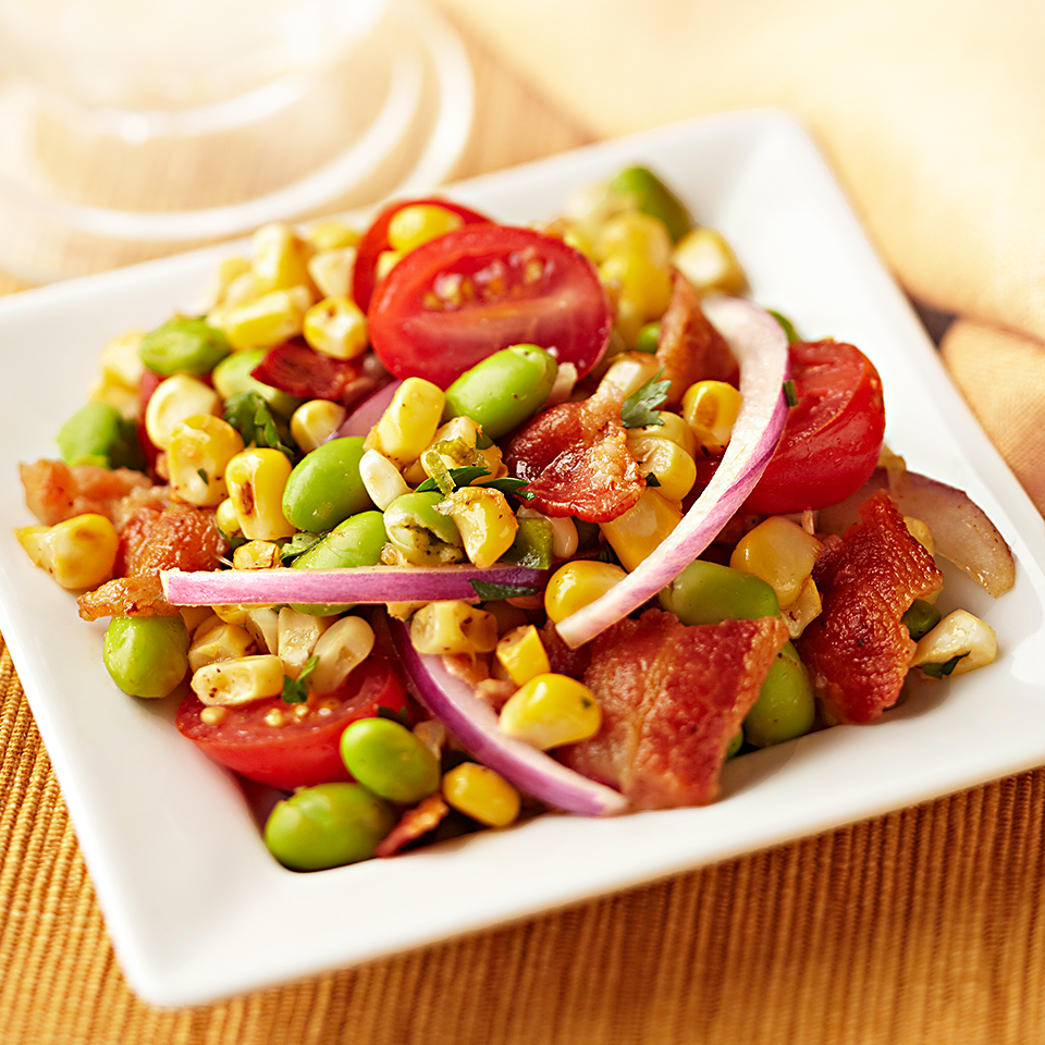 Skillet Corn with Edamame Diabetic Living Magazine