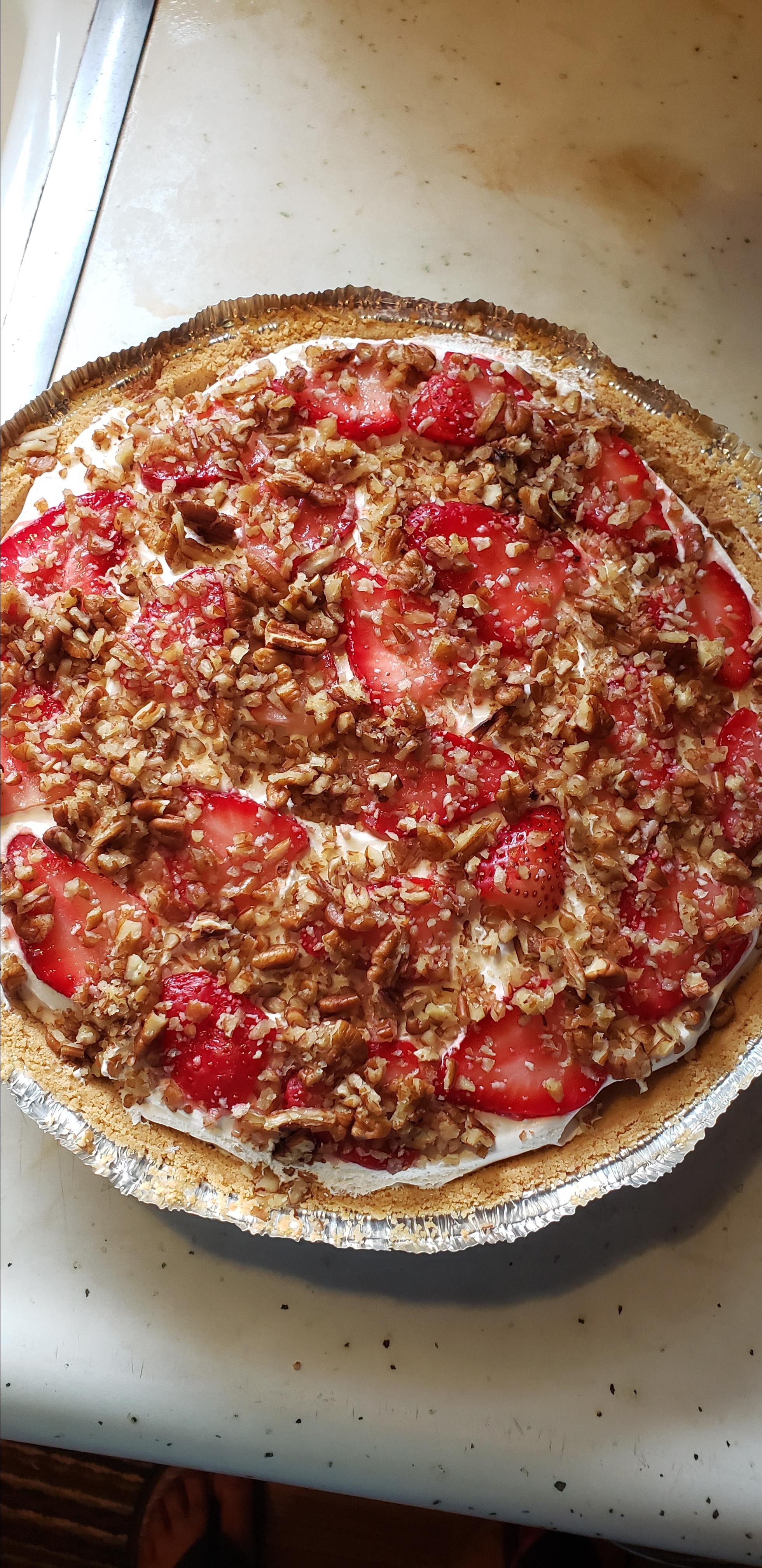 Strawberry Delight Pie Jenatta