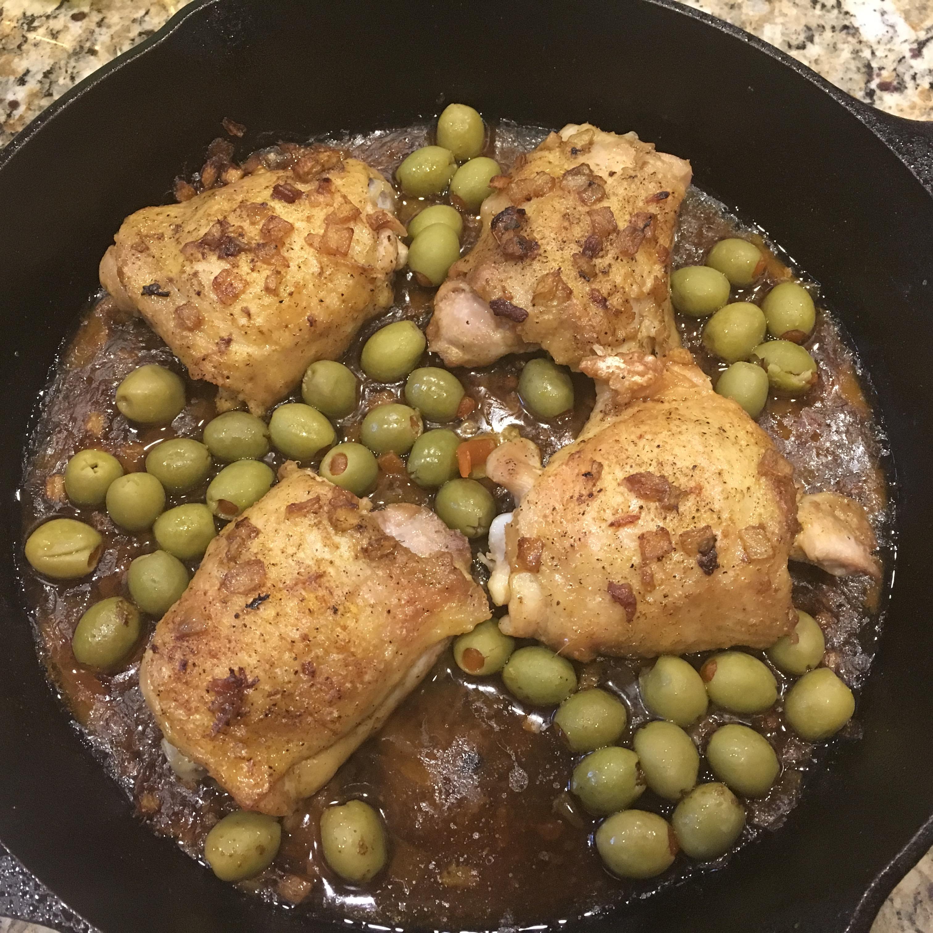 Moroccan Chicken Thighs nvtalmad