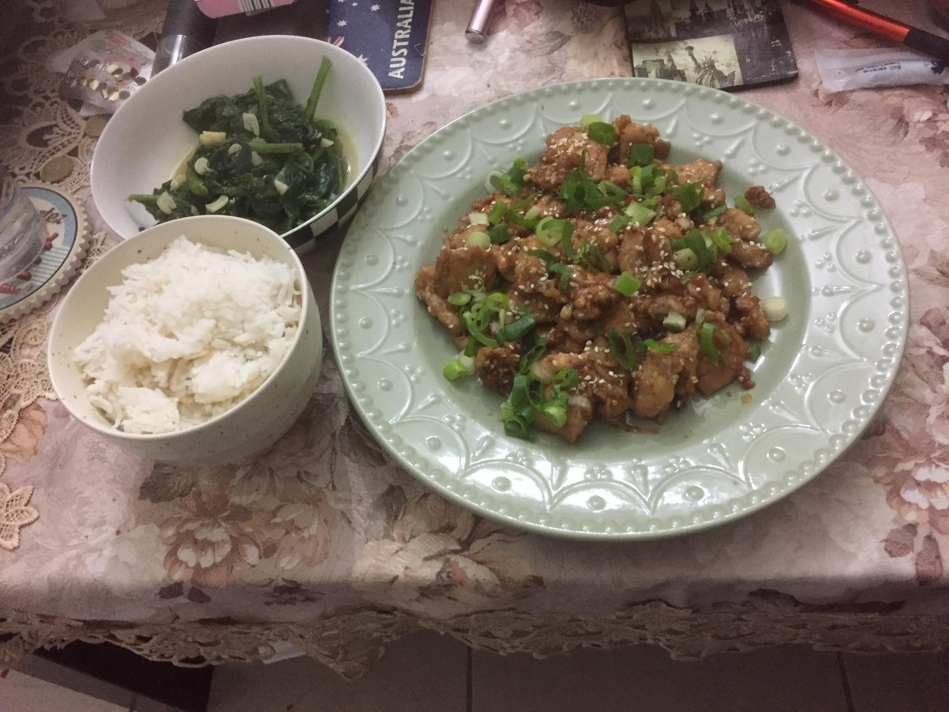 Skillet Chicken Bulgogi Ronen Gueta