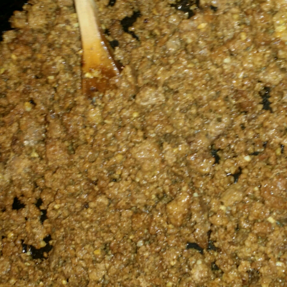Garlic Mustard Ground Beef