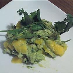 spicy mango guacamole recipe