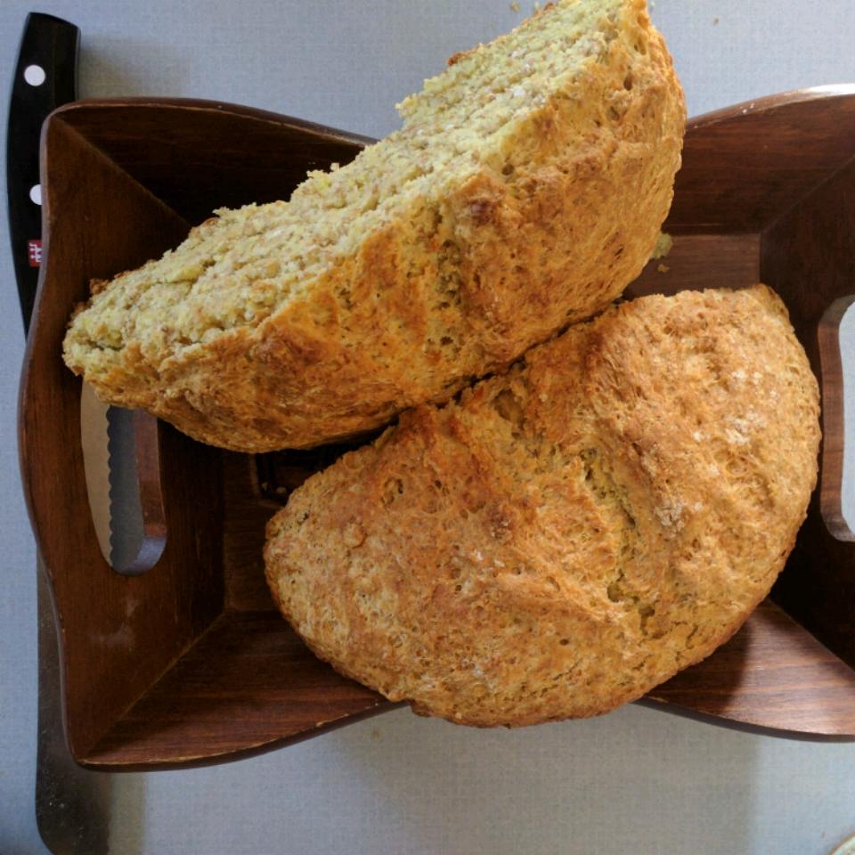 Beautiful Brown Soda Bread Mary Cross