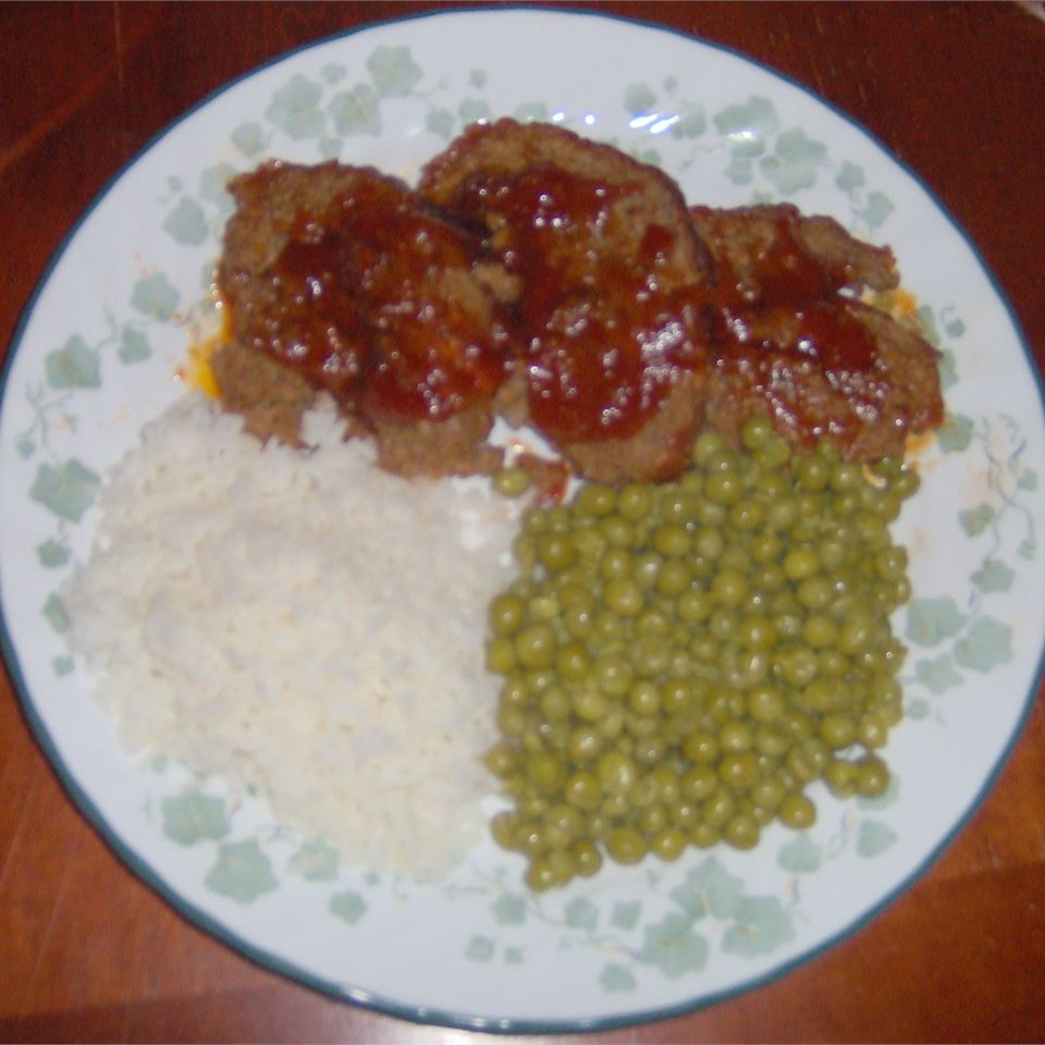 Sweet and Sour Meatloaf Melissa