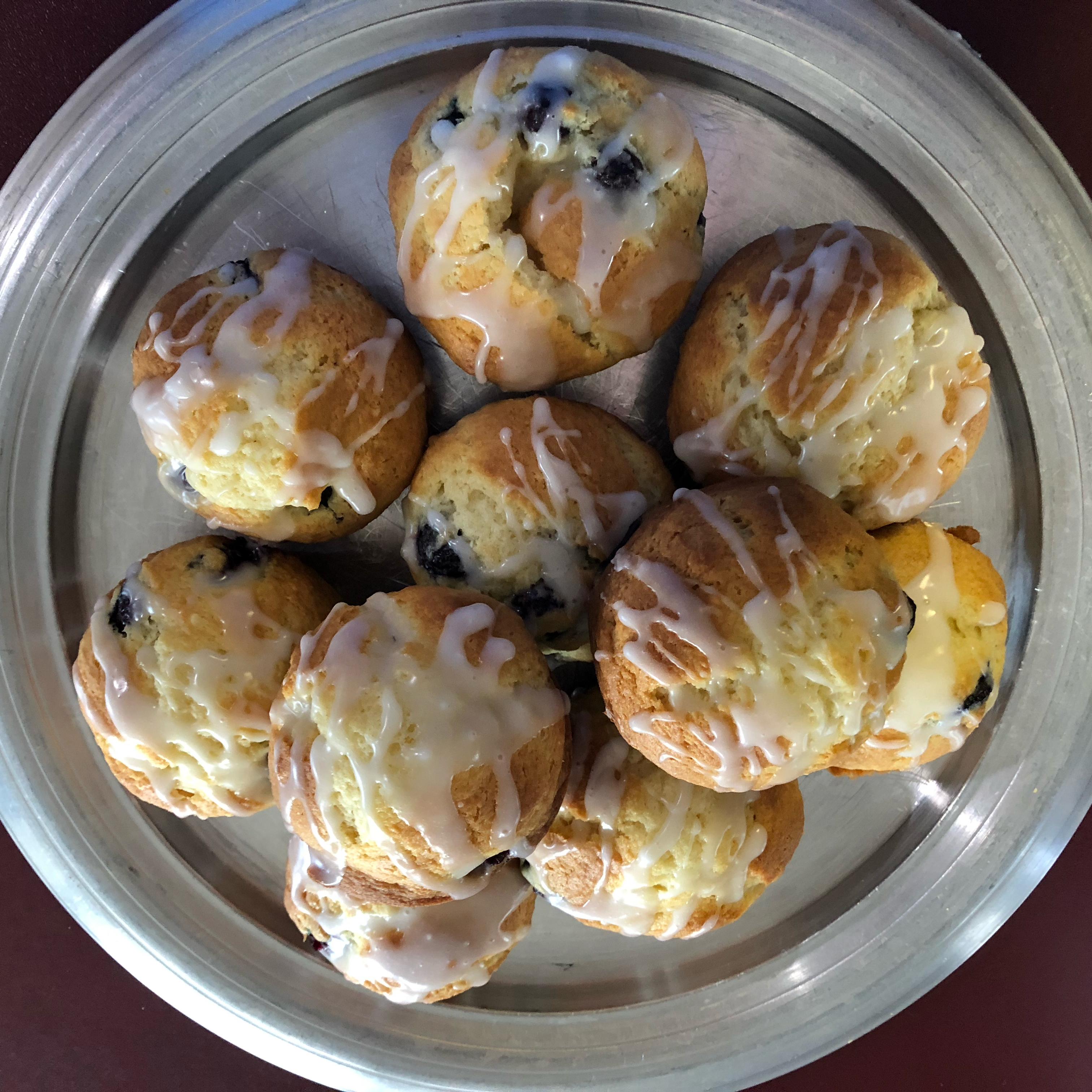 Cream Cheese-Blueberry Muffins Michele M