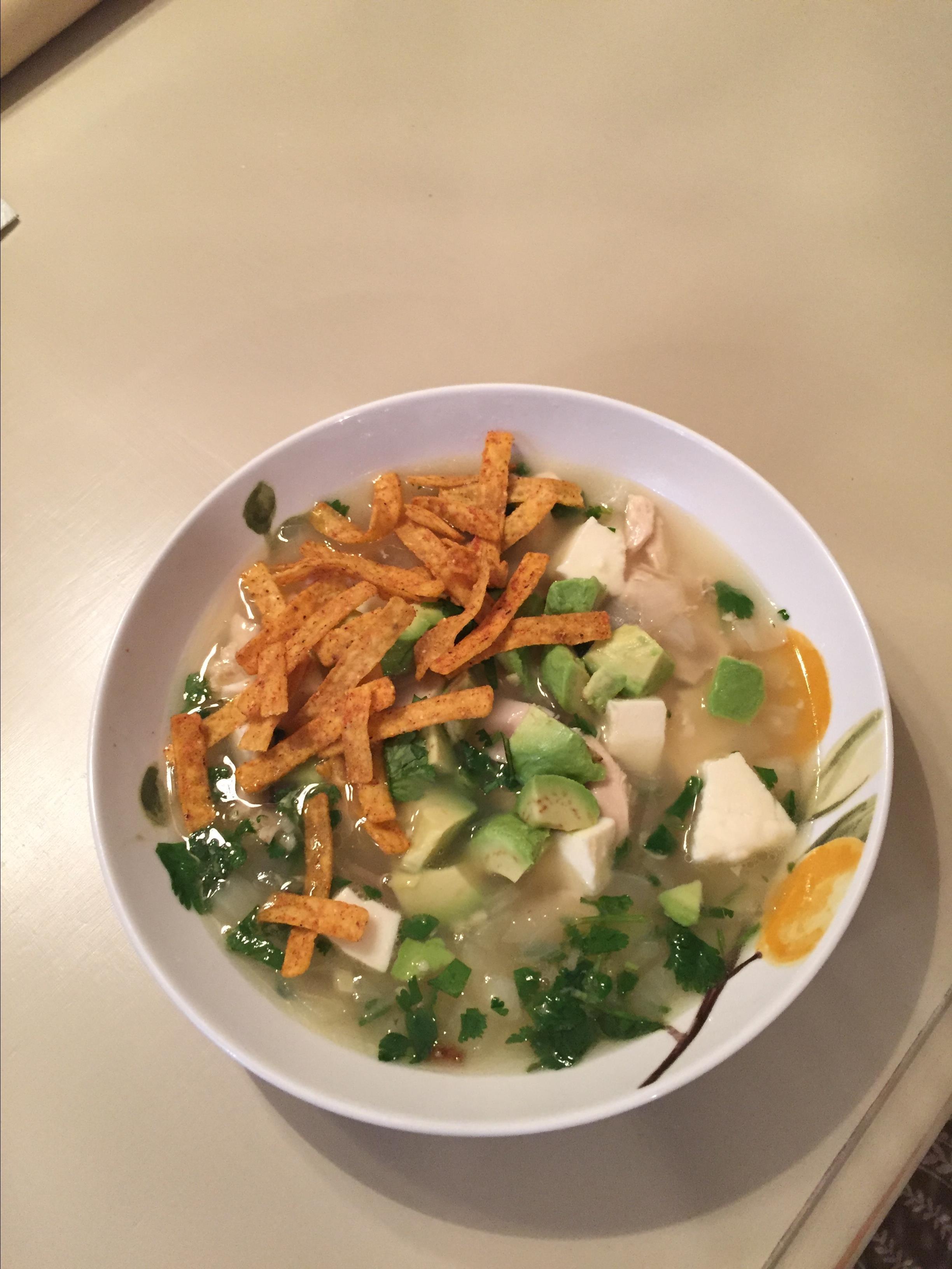 Spicy Lime Avocado Soup kathleen
