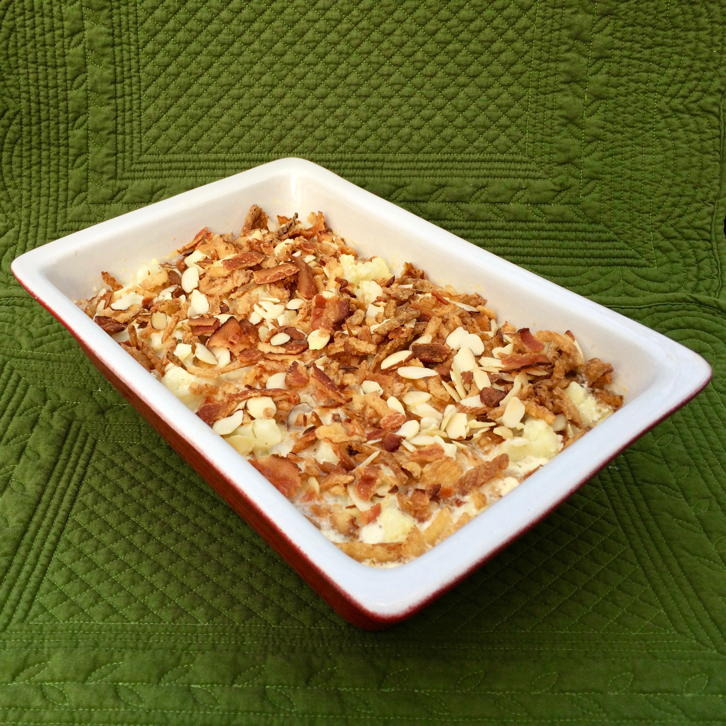 Cauliflower Crumble