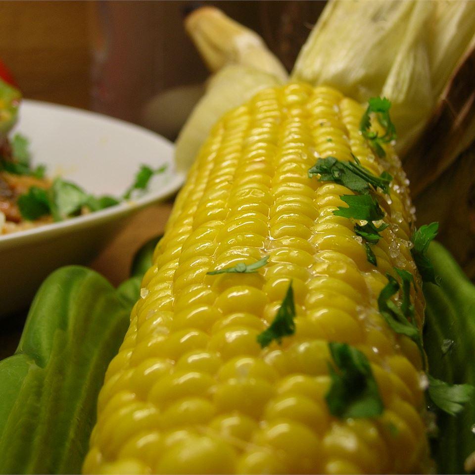 Juicy Grilled Corn On The Cob *Sherri*