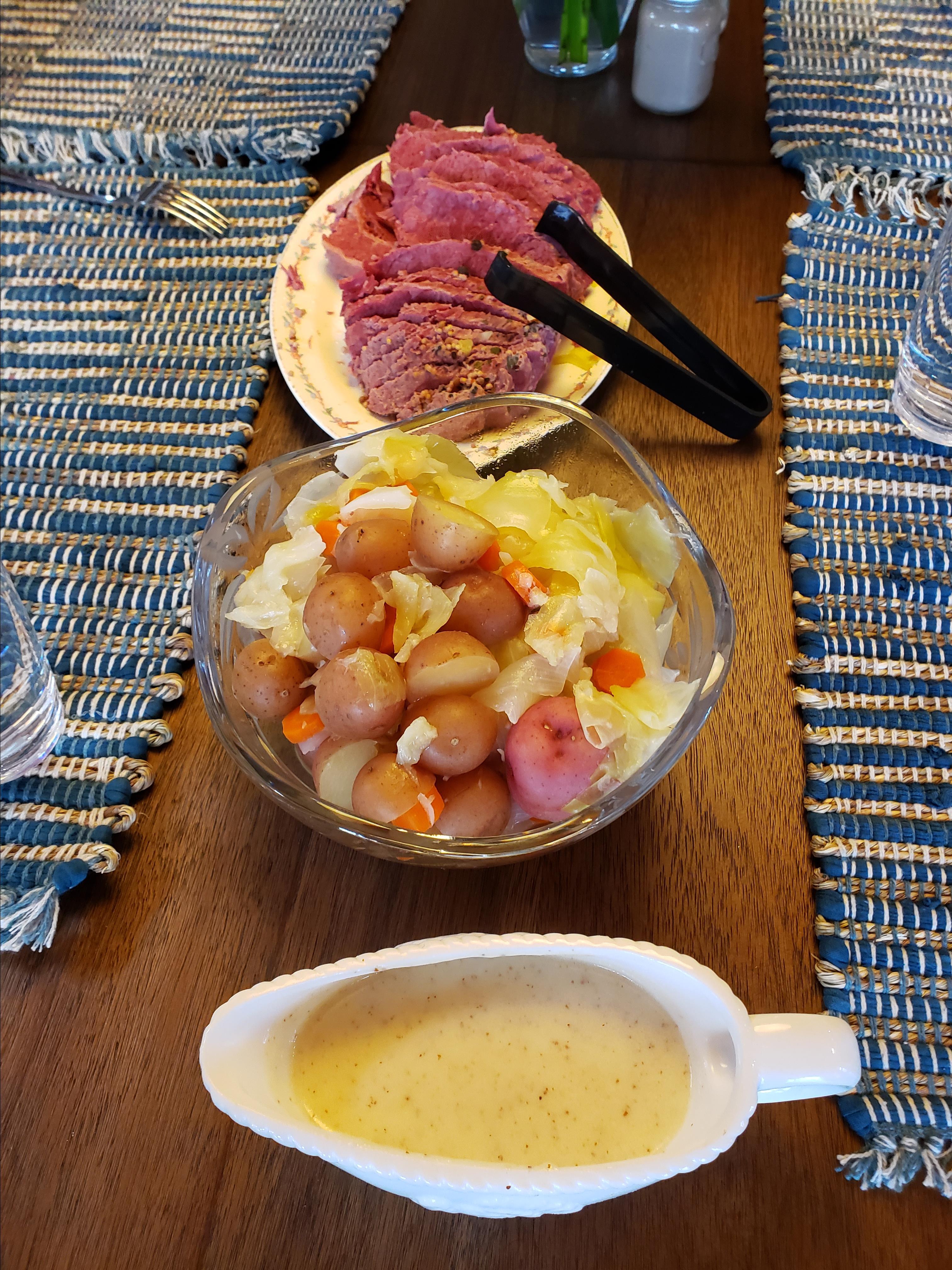 Corned Beef Dinner for St. Patrick's Day D Carrasco
