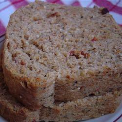 Basil and Sun-dried Tomato Bread Ahmilya