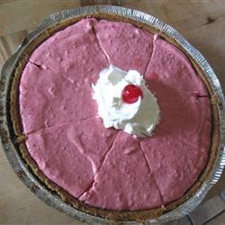 Cranberry Mousse Pie aia4spoc