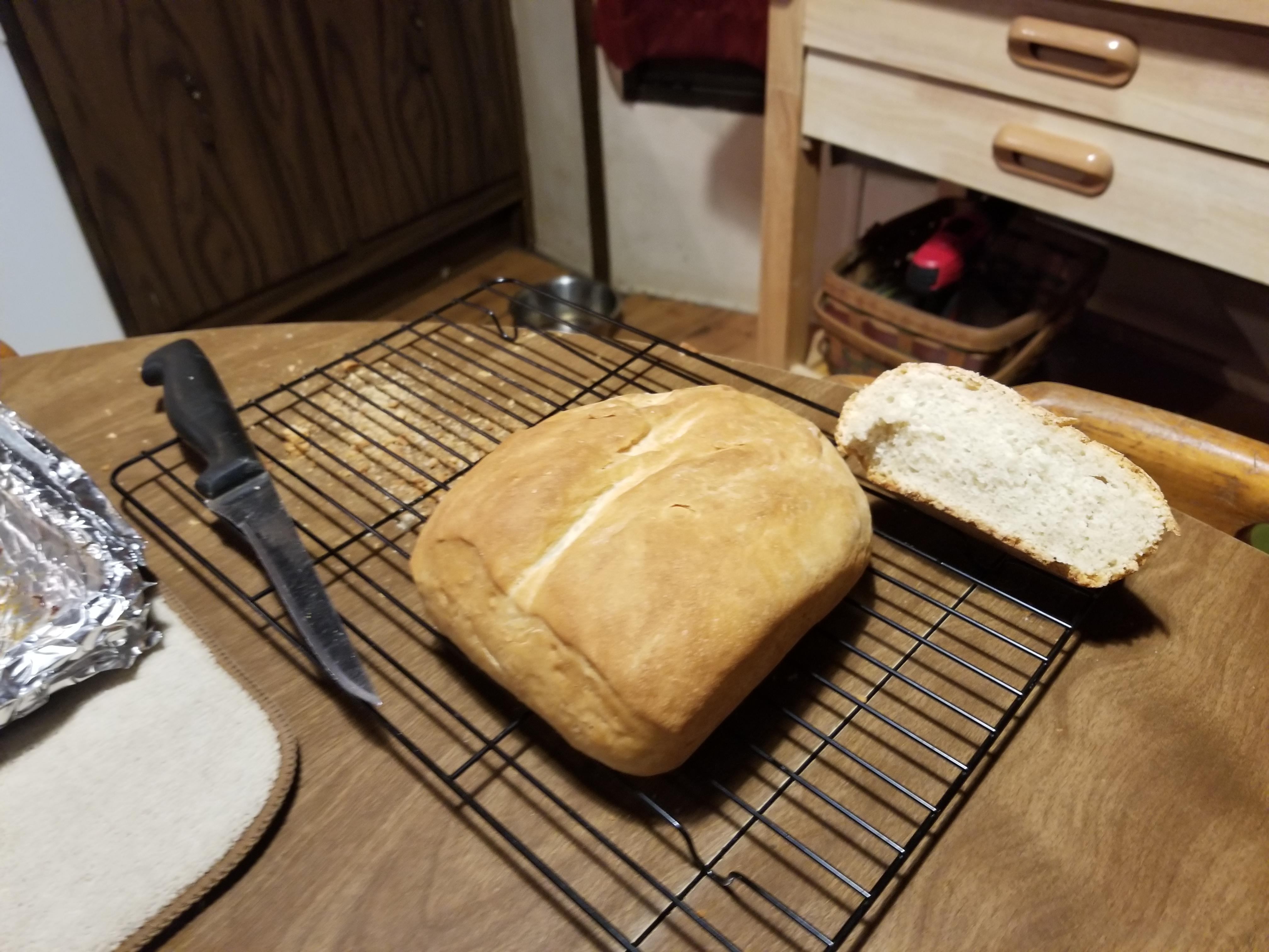 Basic High-Altitude Bread Dennis Sweeney