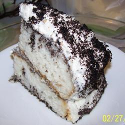Dirty Snow Cake
