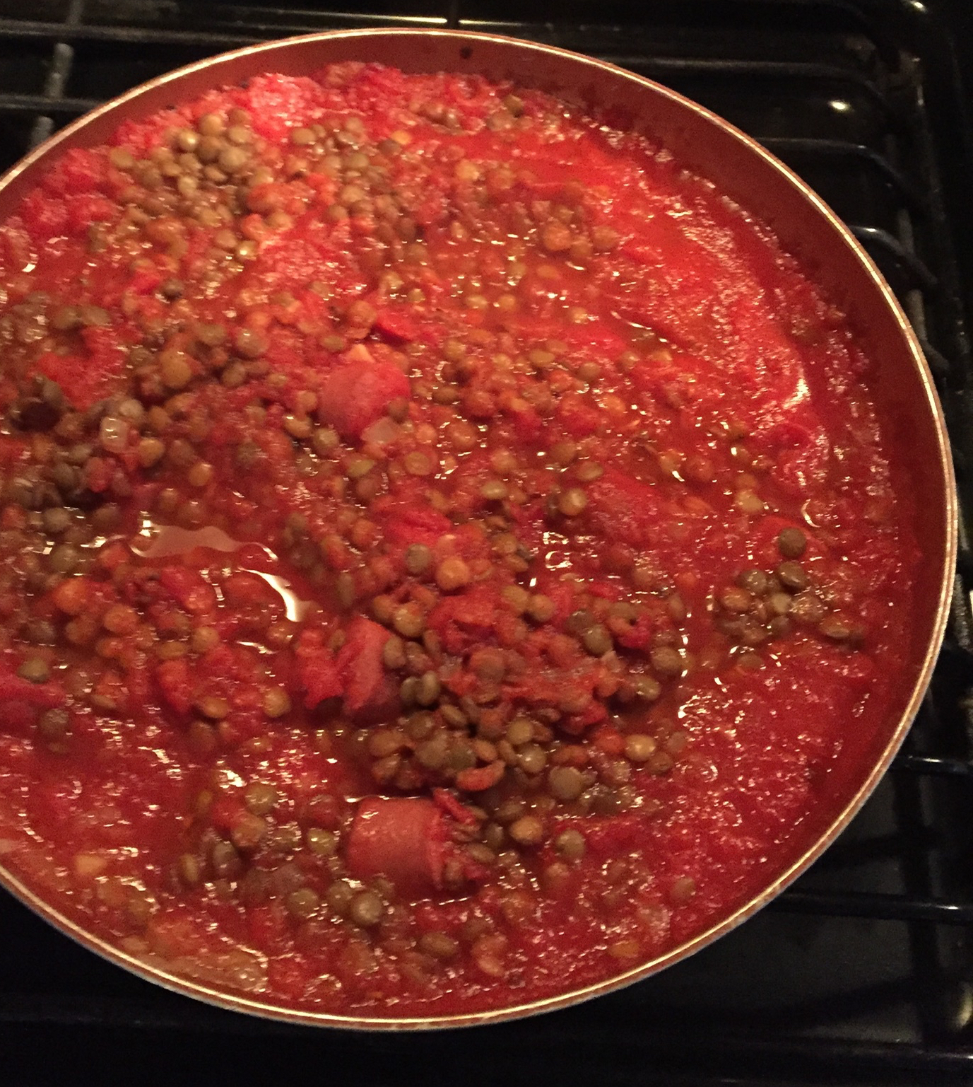 Lentils with Tomatoes Dawn Farrar