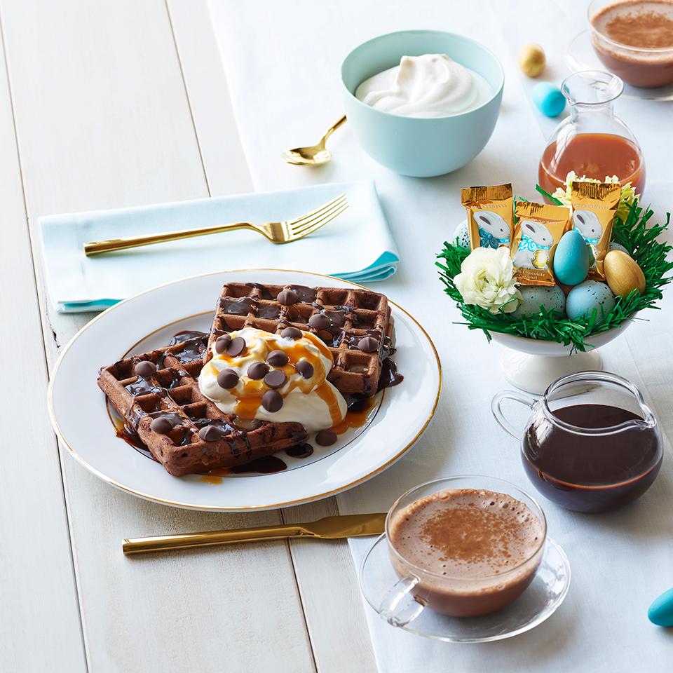 Ghirardelli Chocolate Waffles