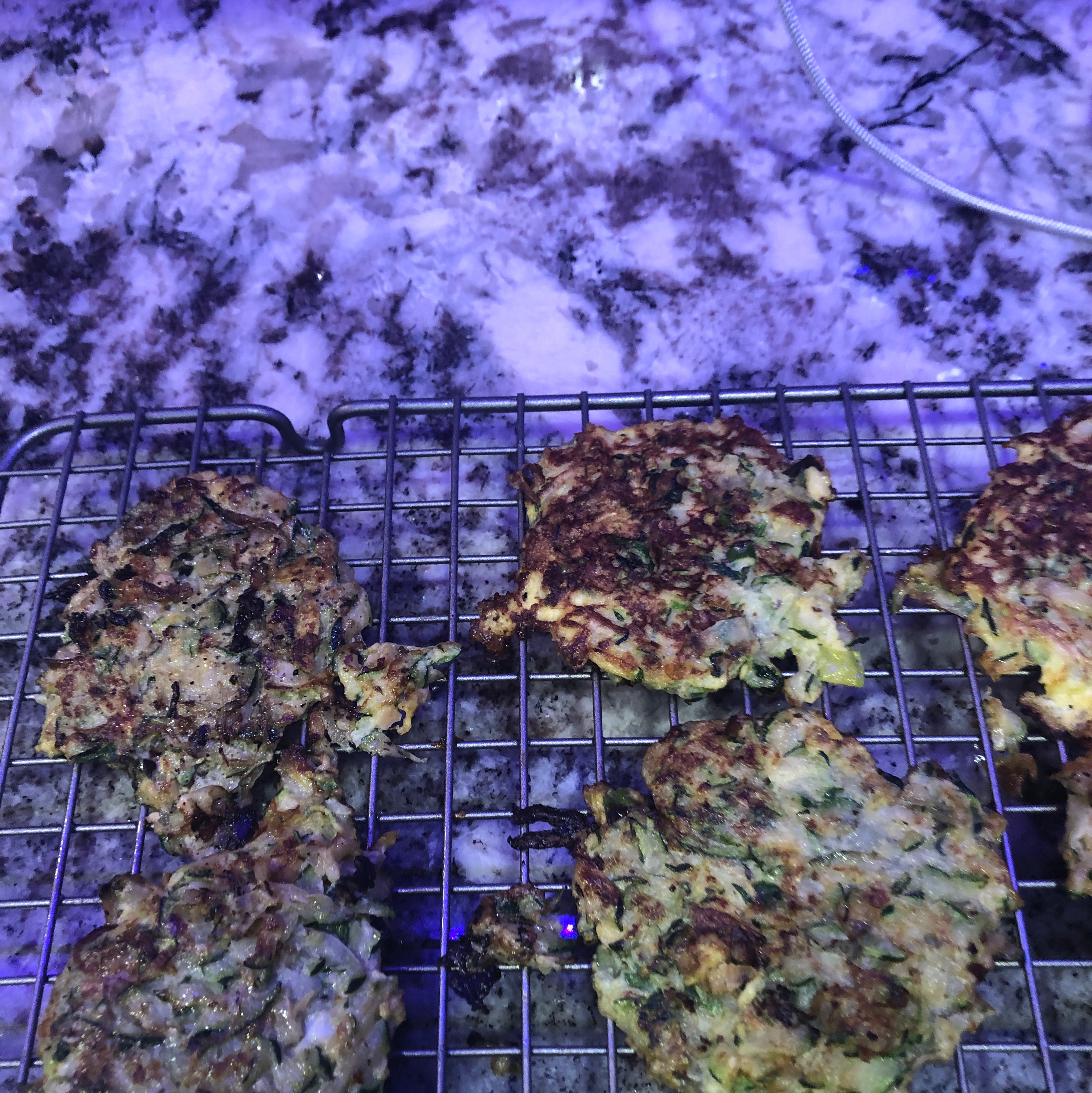 Low Carb Zucchini Pancakes Tracy L. Anderson