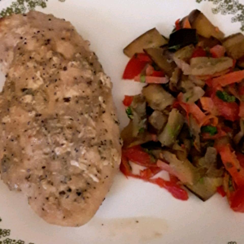 Baked Eggplant Salad leebee927