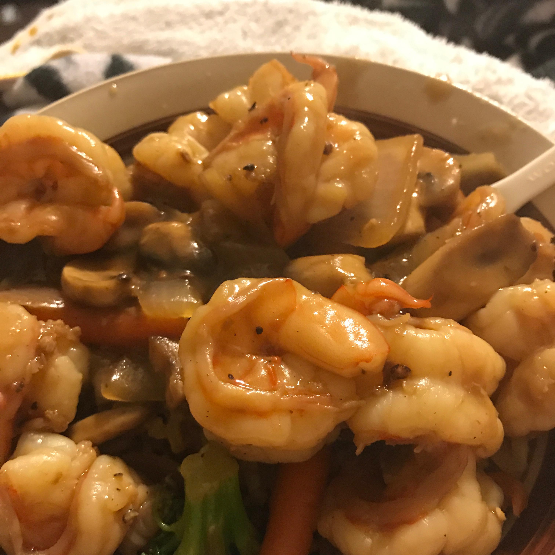 Easy Shrimp Vegetable Stir Fry