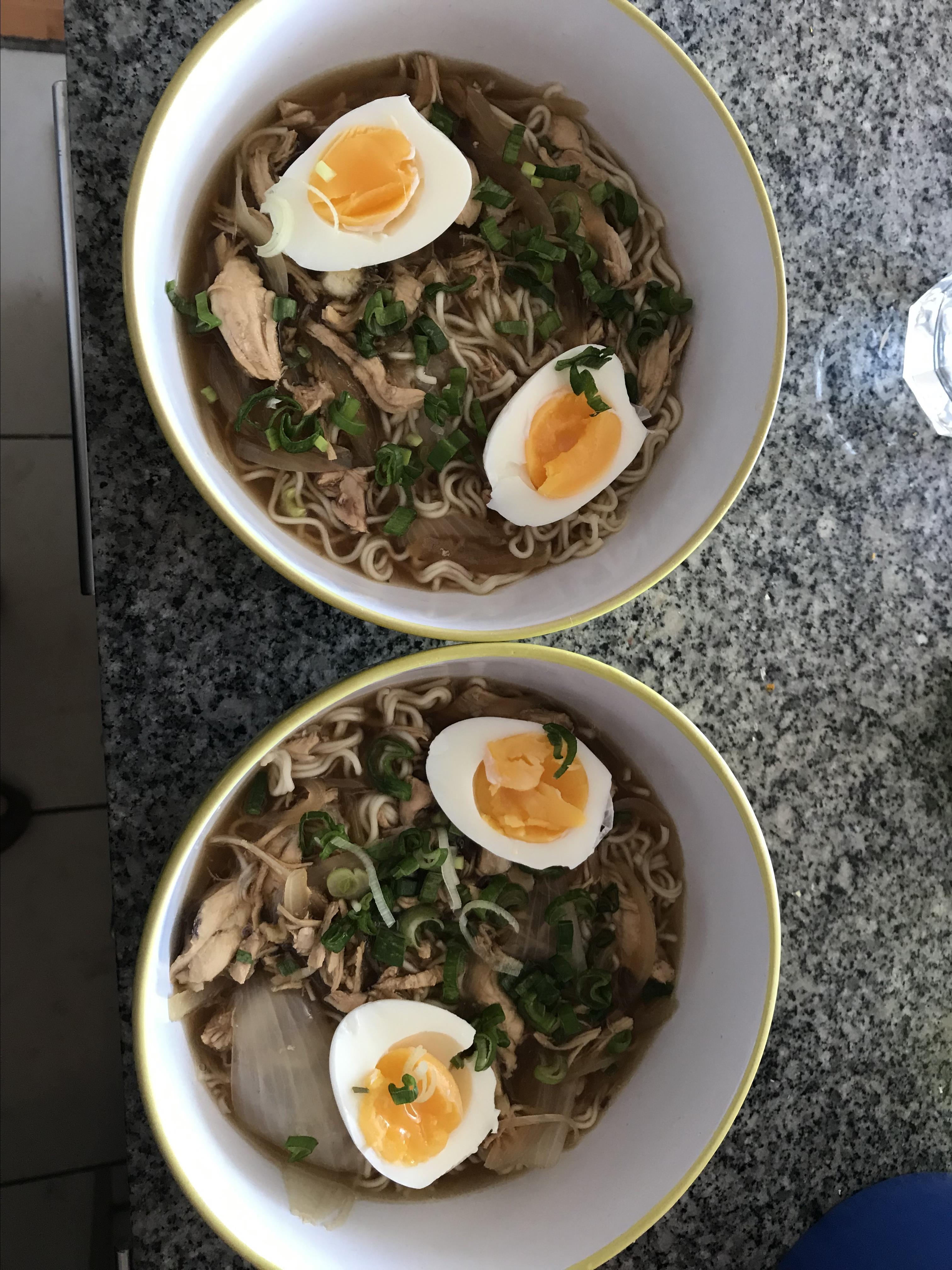 Chicken Ramen Bowl