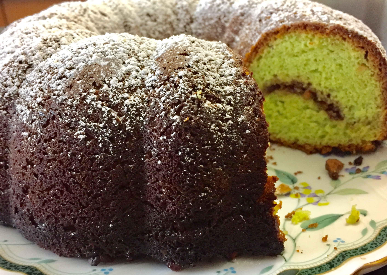 Pistachio Nut Bundt Cake dbp