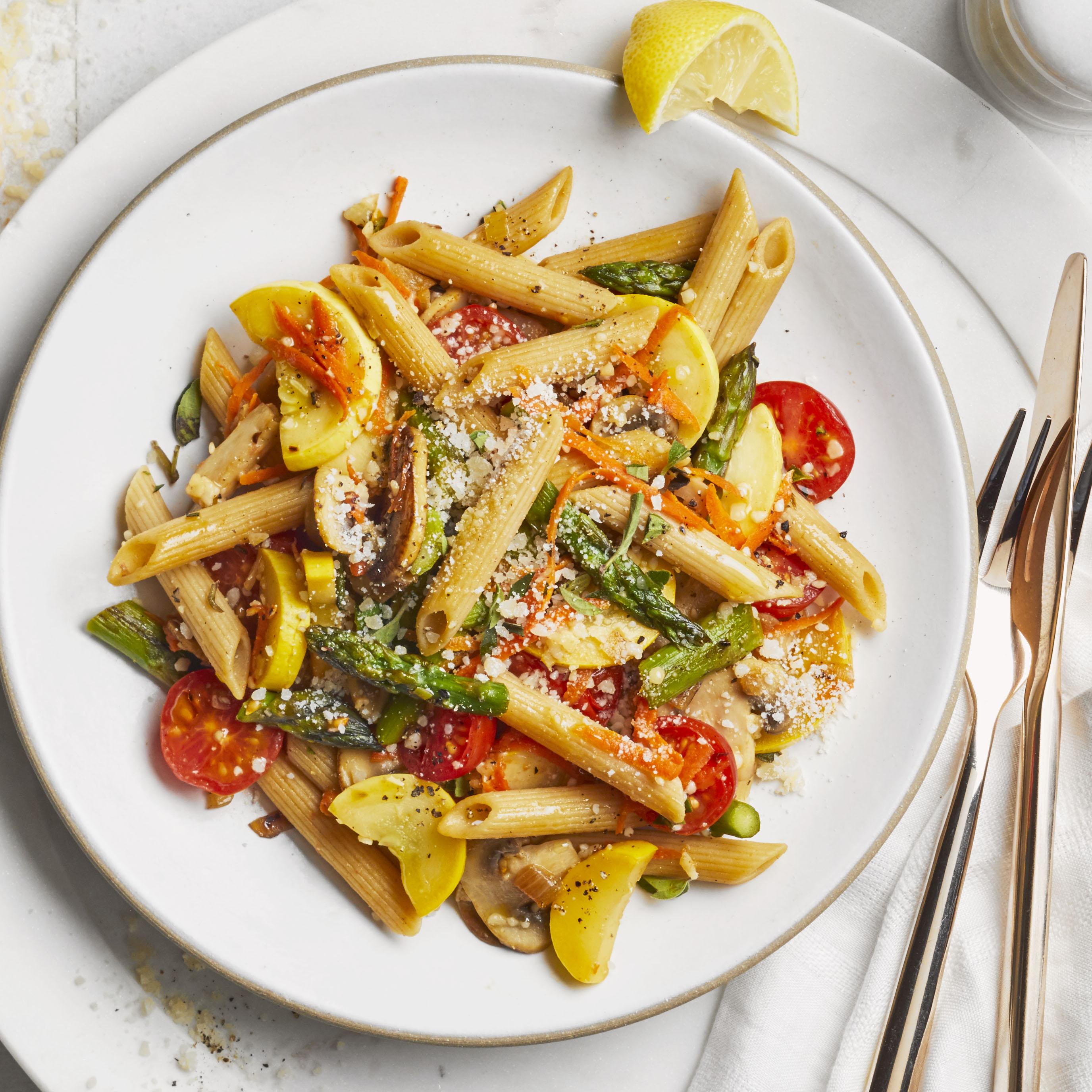 Healthy Pasta Primavera Allrecipes Magazine