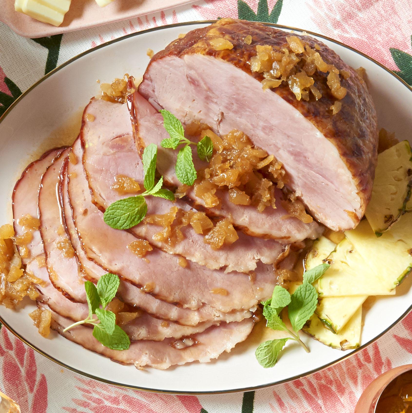 Sweet Slow Cooker Ham